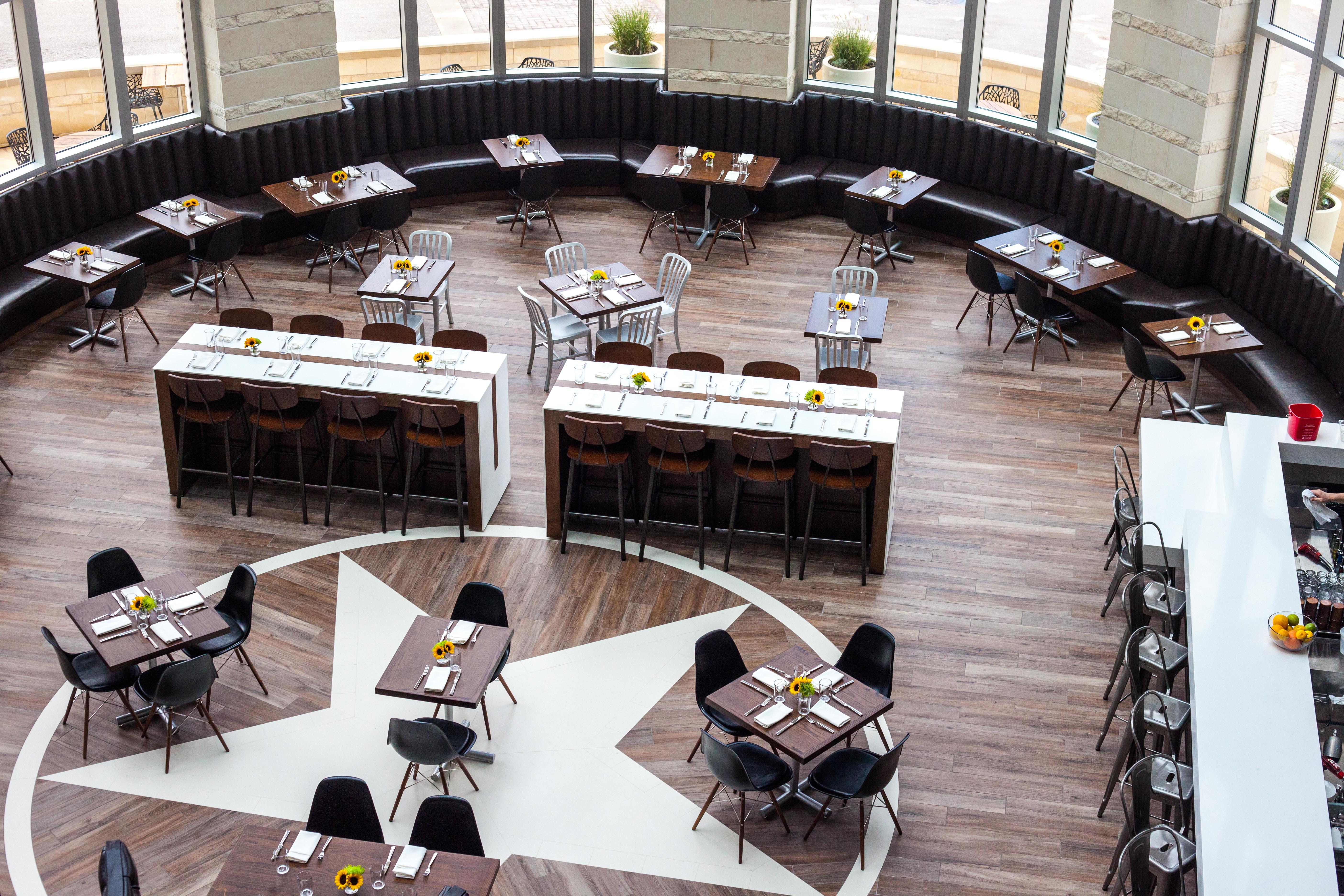 Second Bar + Kitchen at Archer Hotel