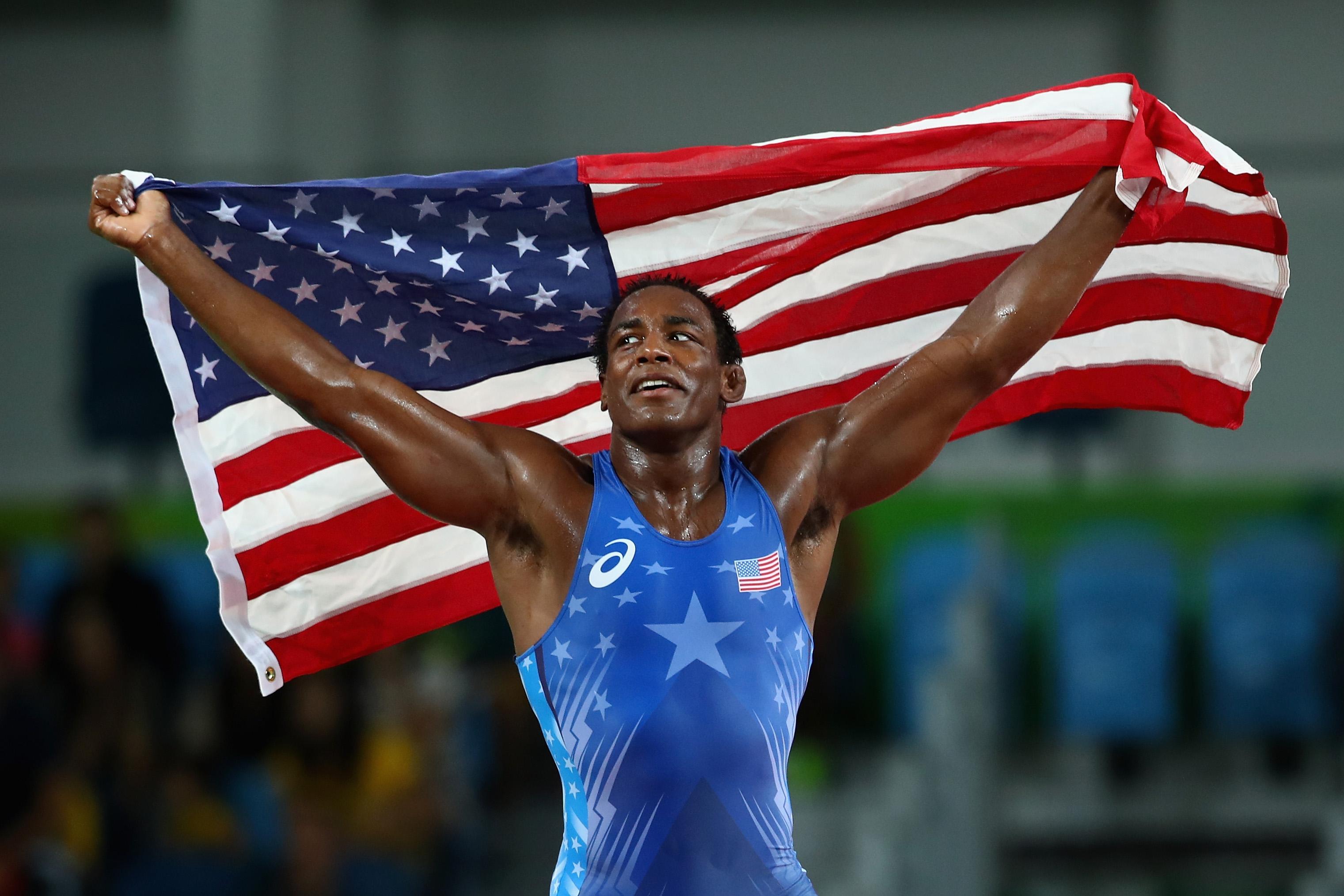 Wrestling - Olympics: Day 15