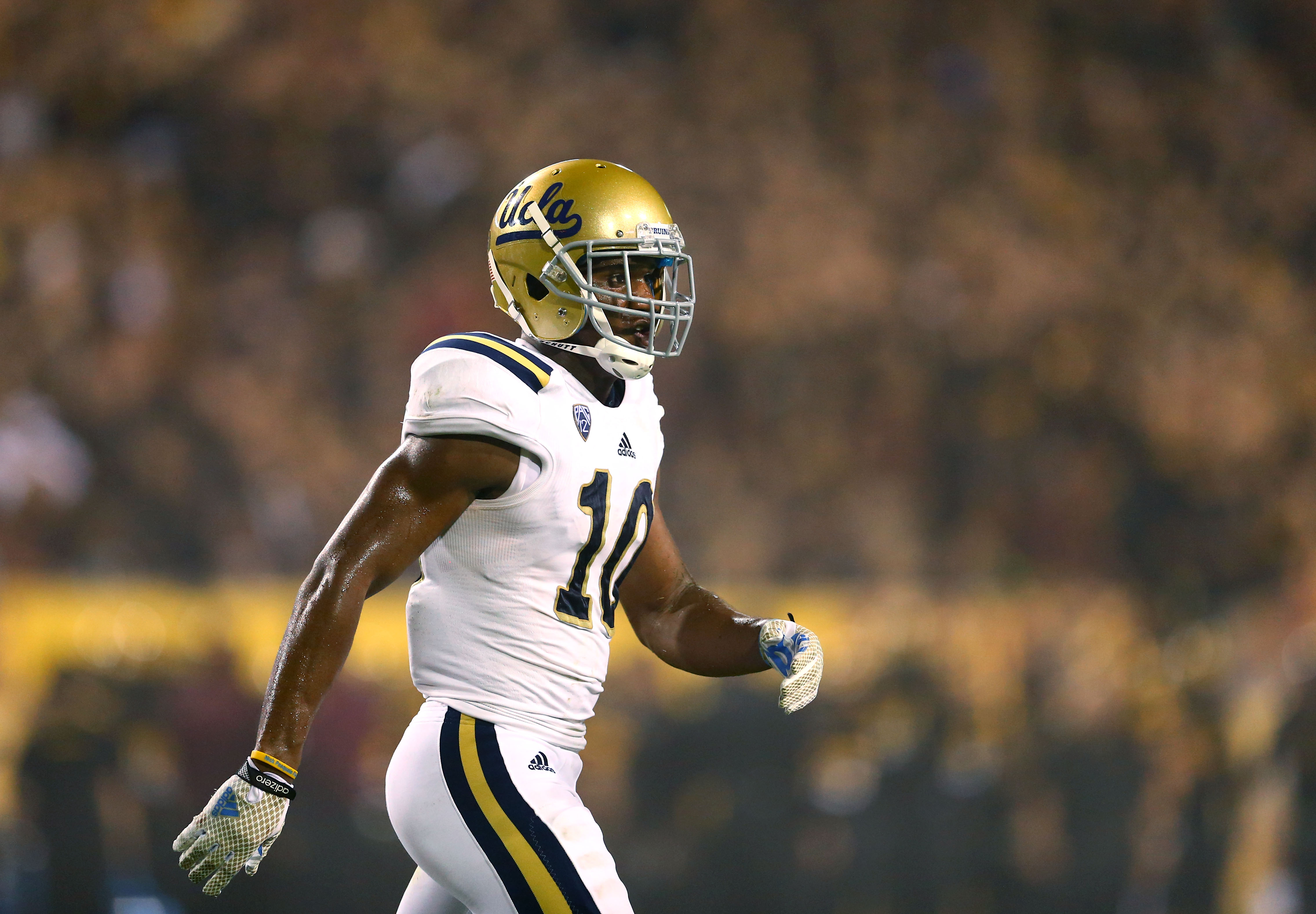 Can UCLA's Fabian Moreau and company keep Texas A&M's highly touted receivers out of the end zone tomorrow?