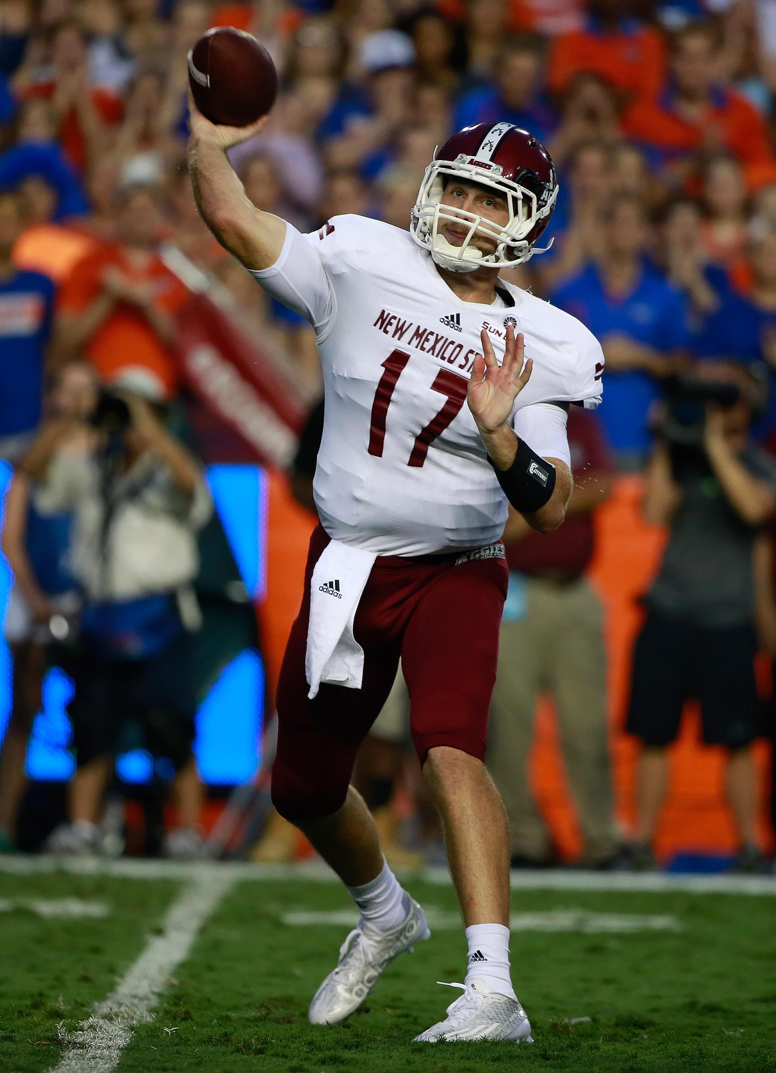 NCAA Football: New Mexico State at Florida