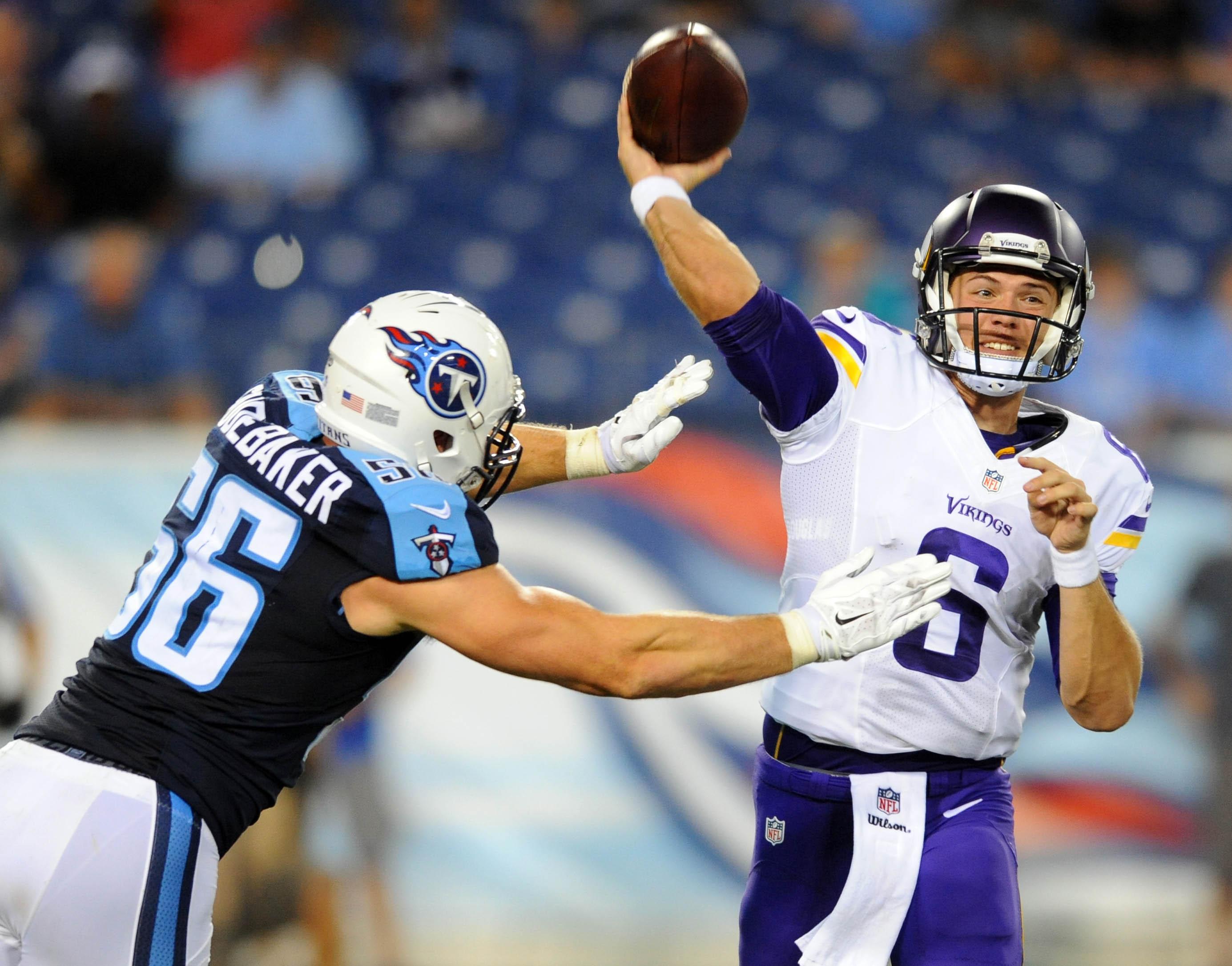 NFL: Preseason-Minnesota Vikings at Tennessee Titans
