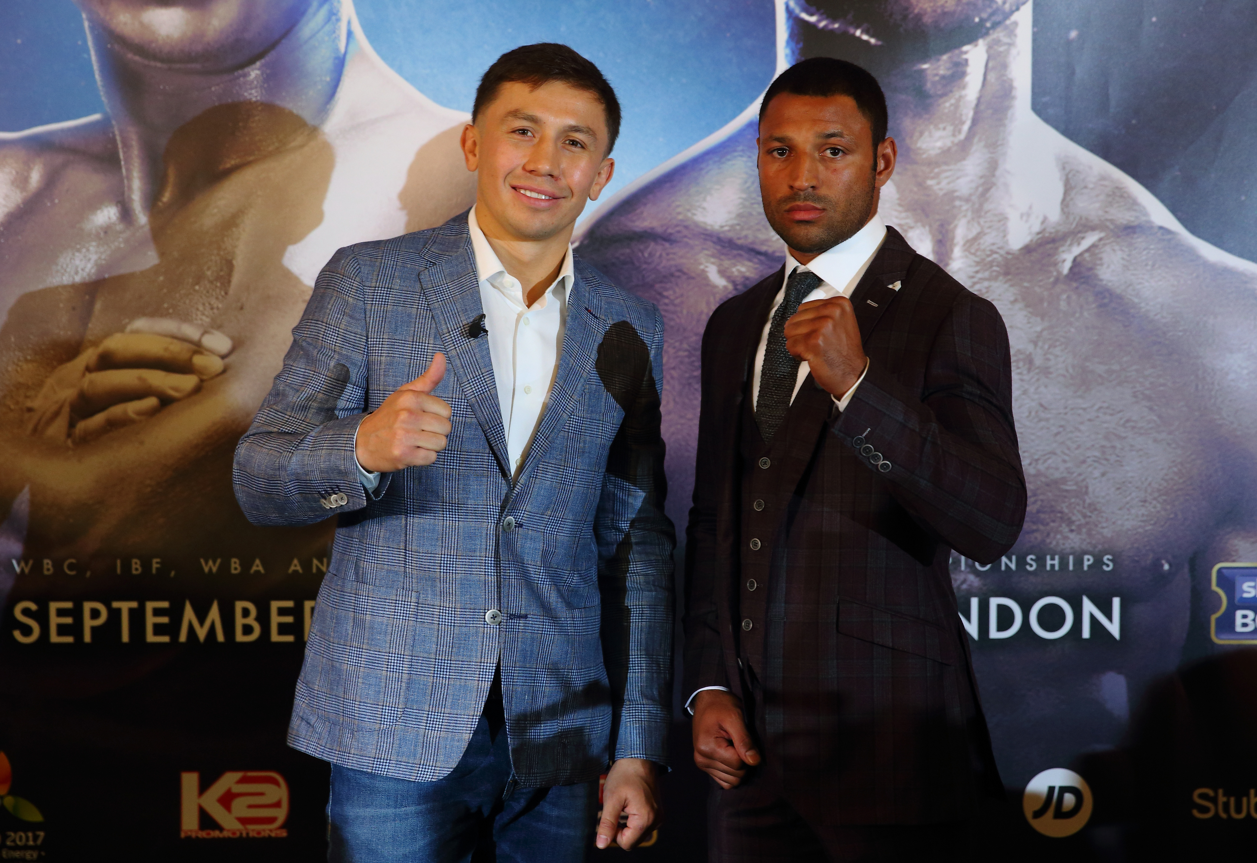 Gennady 'GGG' Golovkin and Kell Brook Press Conference