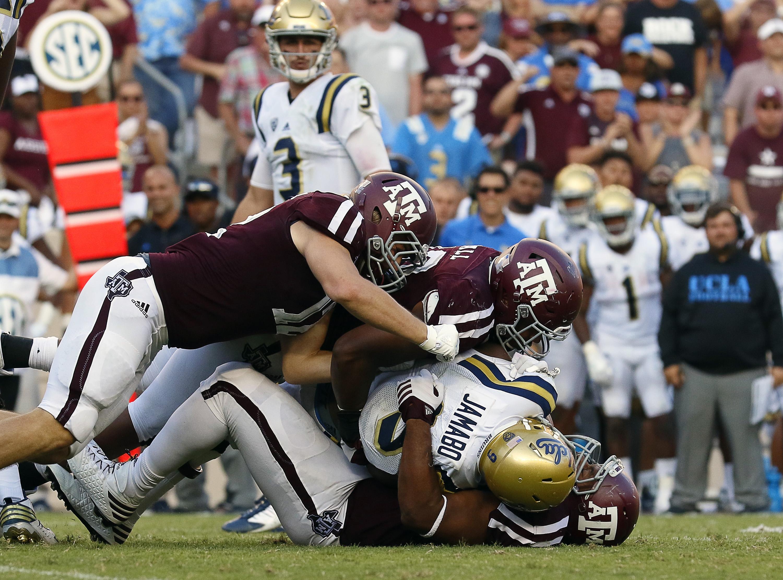 NCAA Football: UCLA at Texas A&M