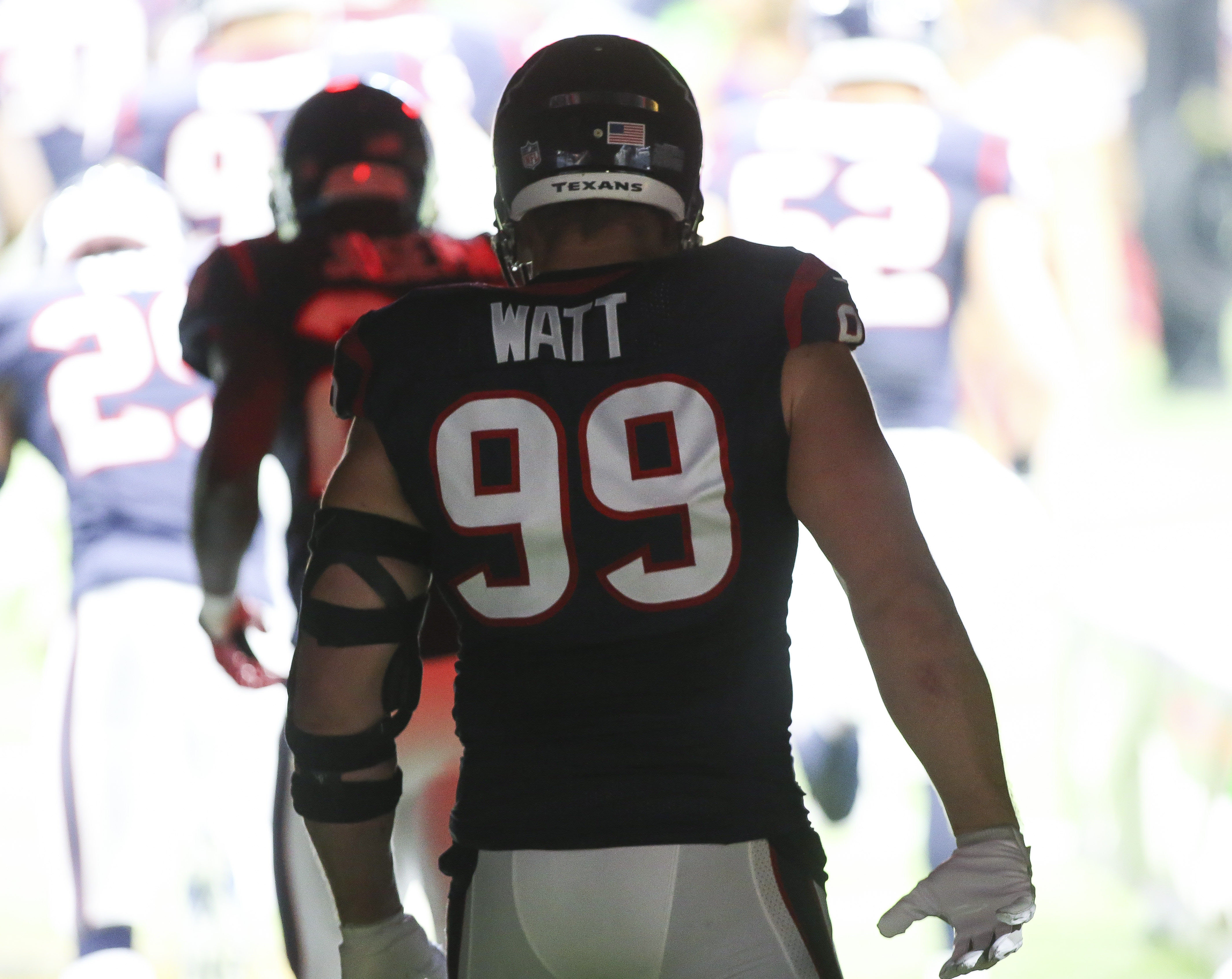 outlet store 822cb d97cb Houston Texans Injury News: J.J. Watt Passes Physical, Will ...