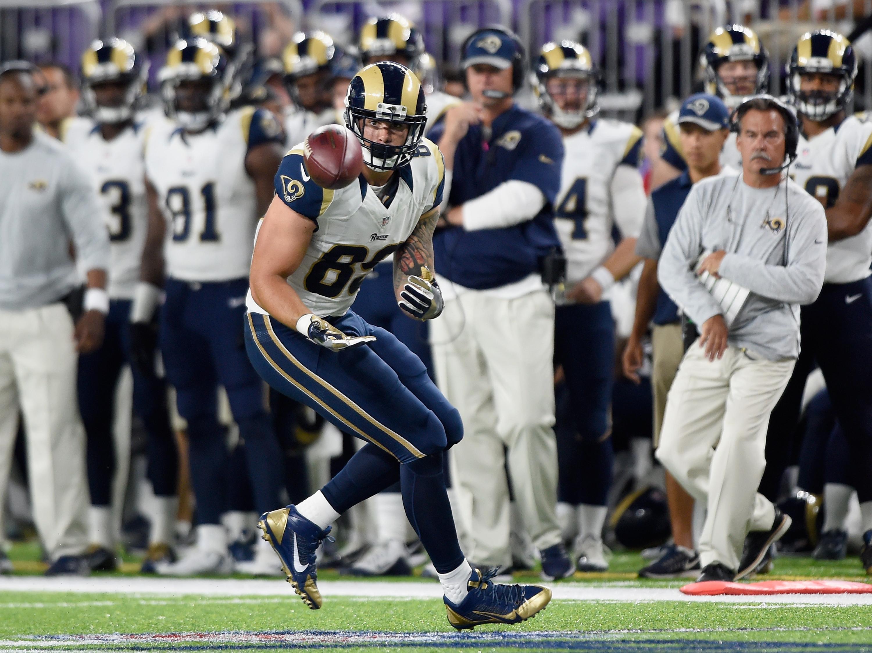 Los Angeles Rams TE Tyler Higbee
