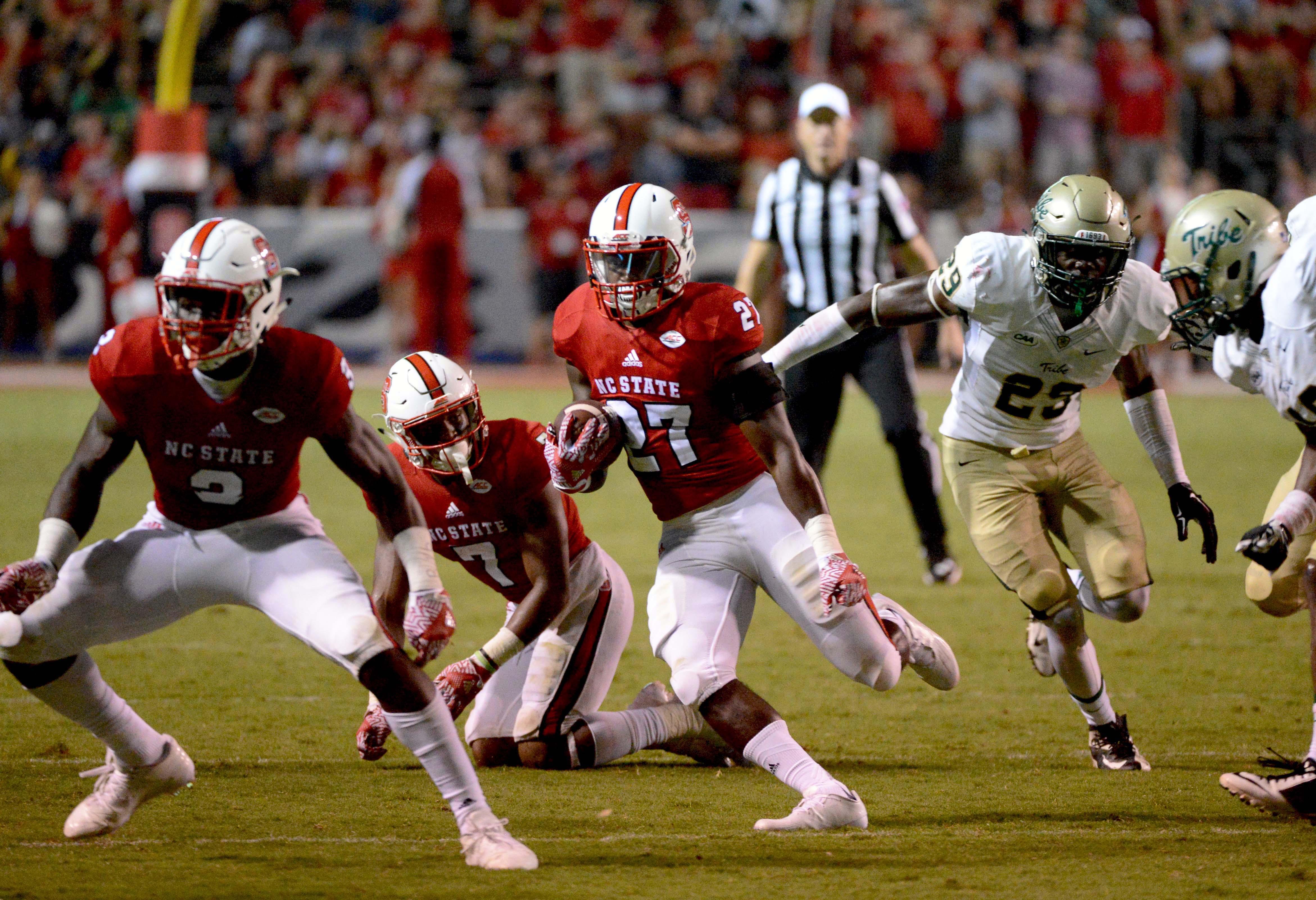 NCAA Football: William & Mary at North Carolina State