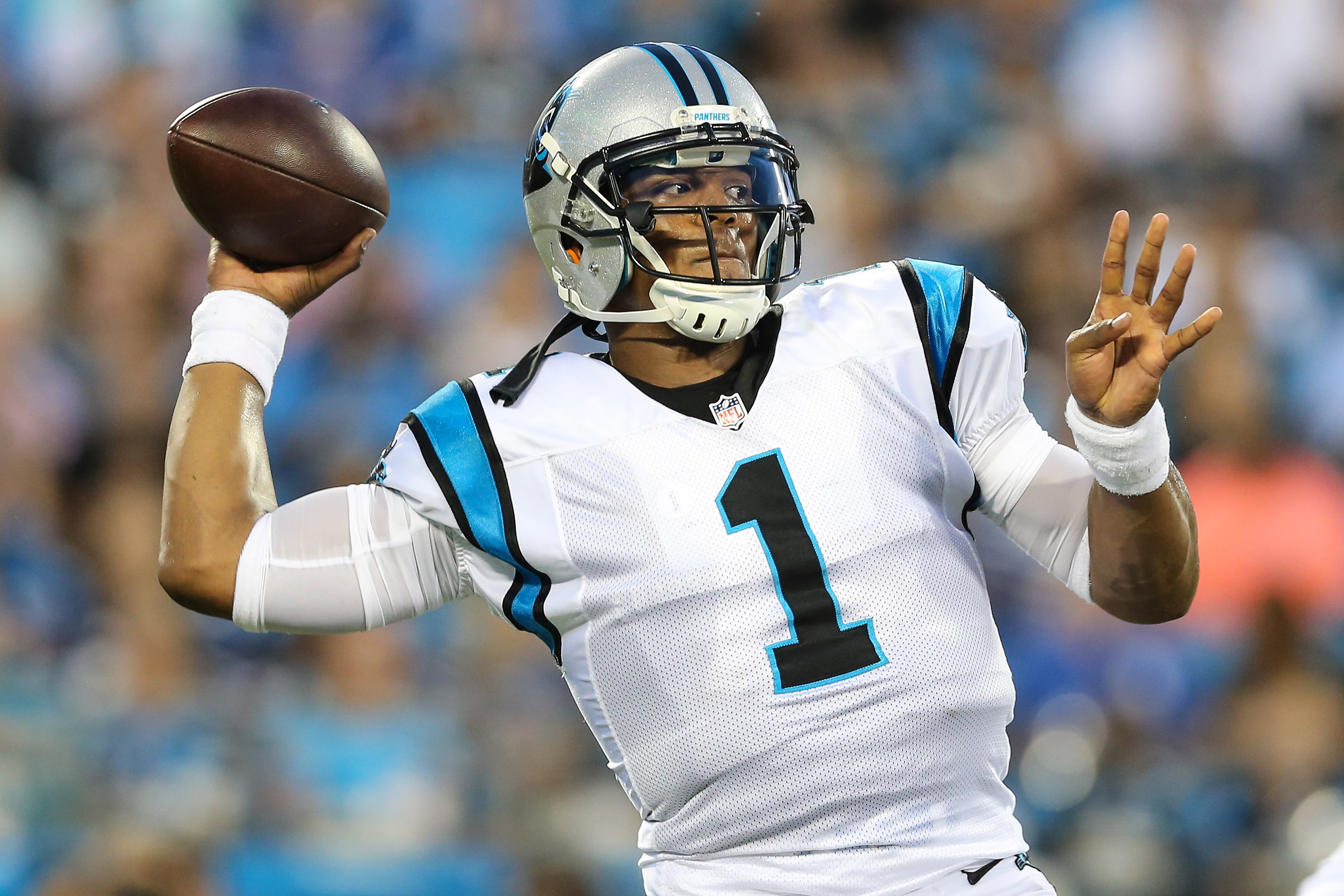 Cam Newton will have a tough task in Week 1 when he travels to Denver for a Super Bowl rematch