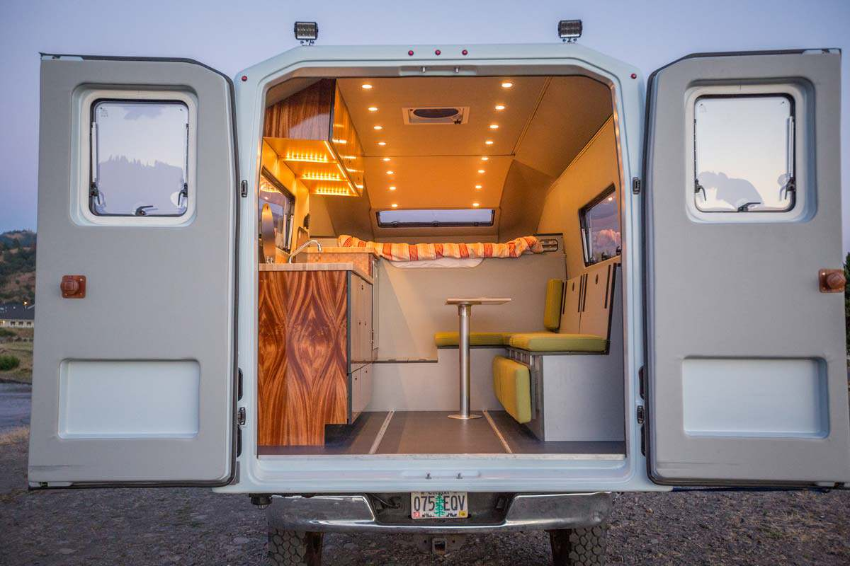 This sleek, customizable truck camper reinvents a classic