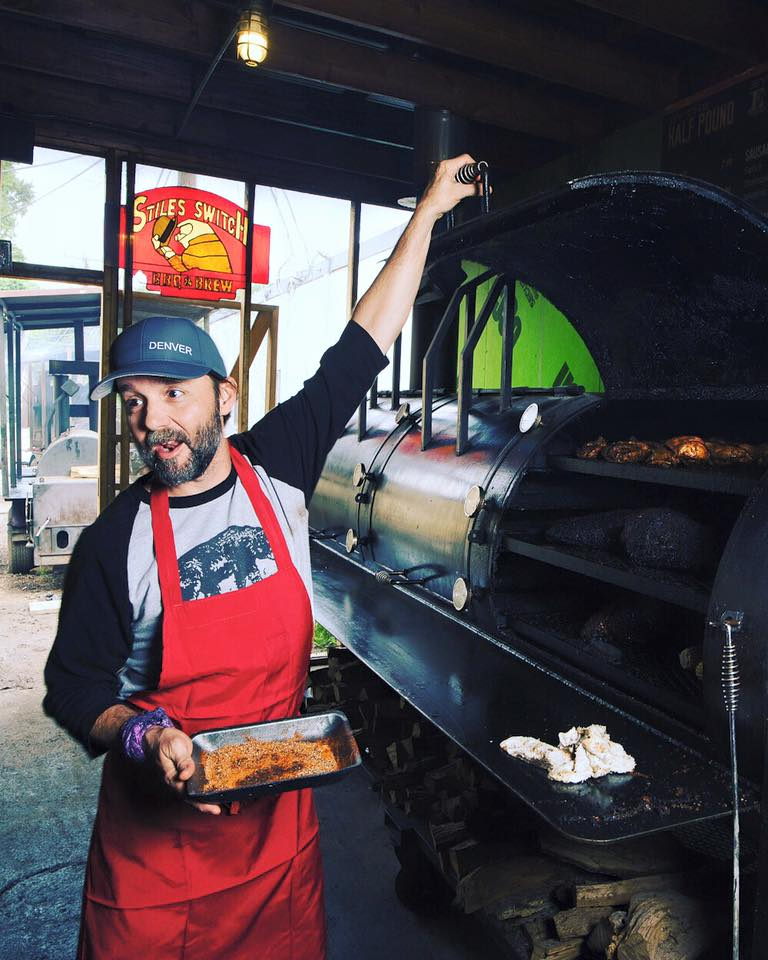 Stiles Switch BBQ & Brew pitmaster Lance Kirkpatrick