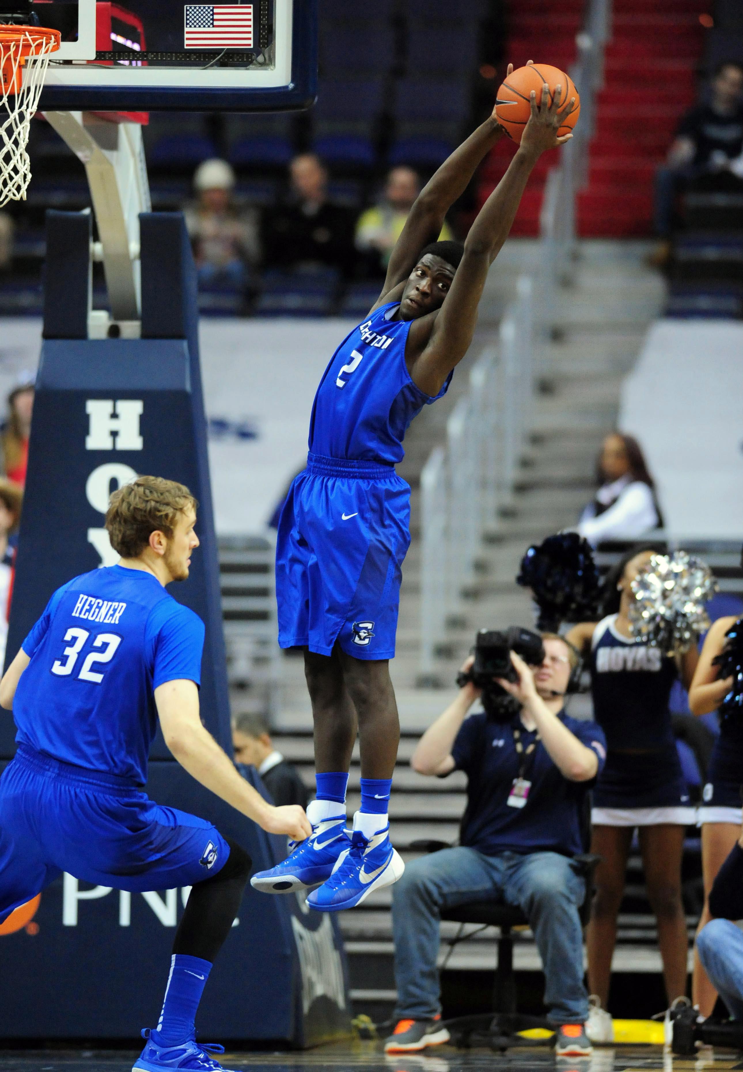 NCAA Basketball: Creighton at Georgetown