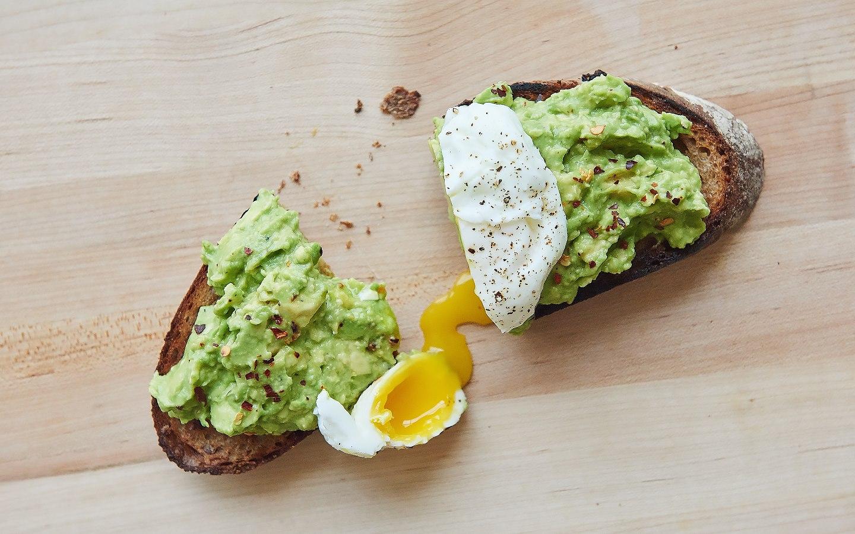 Forthright's avocado toast