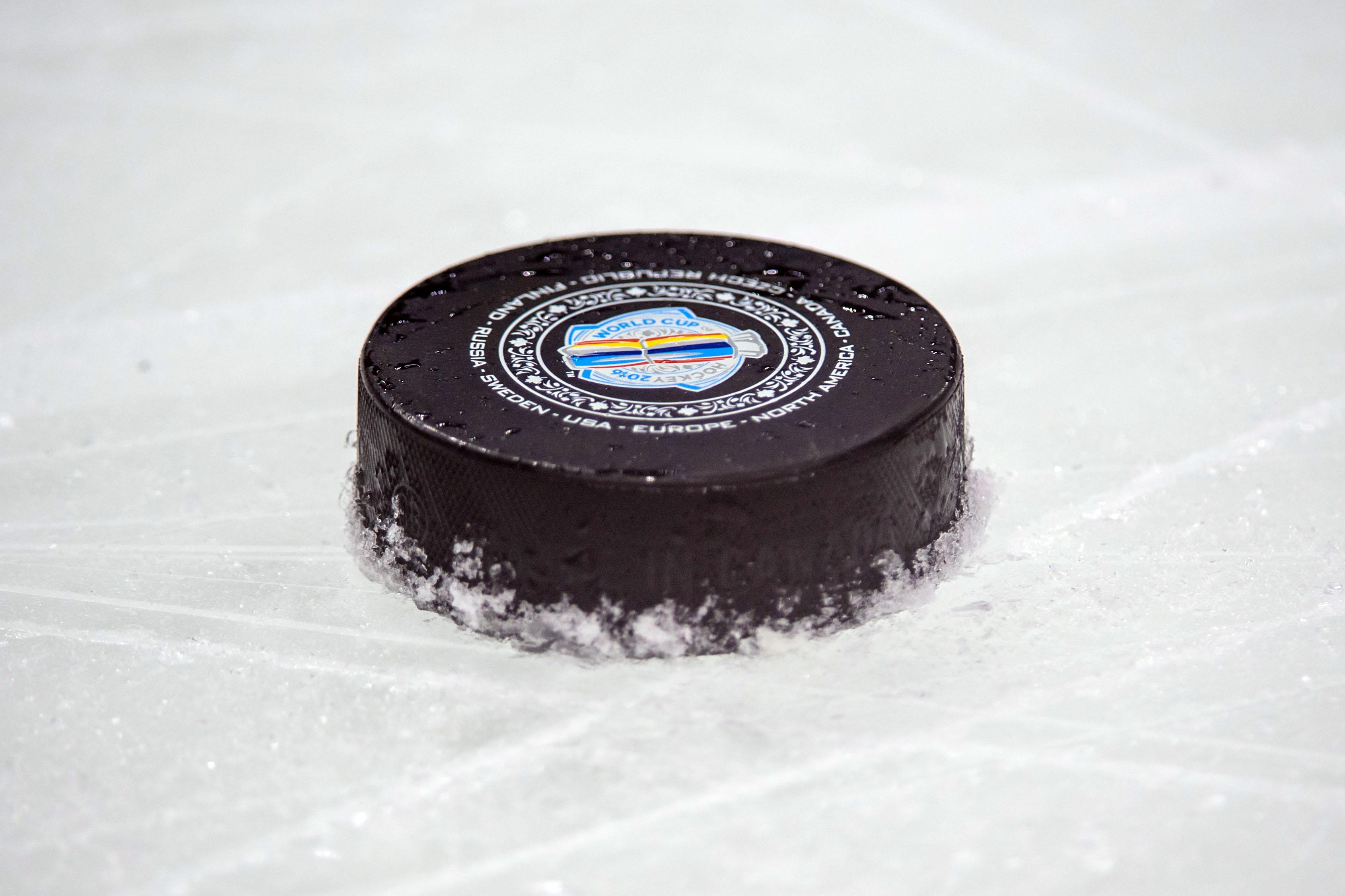 Hockey: World Cup of Hockey-Team Canada-Practice