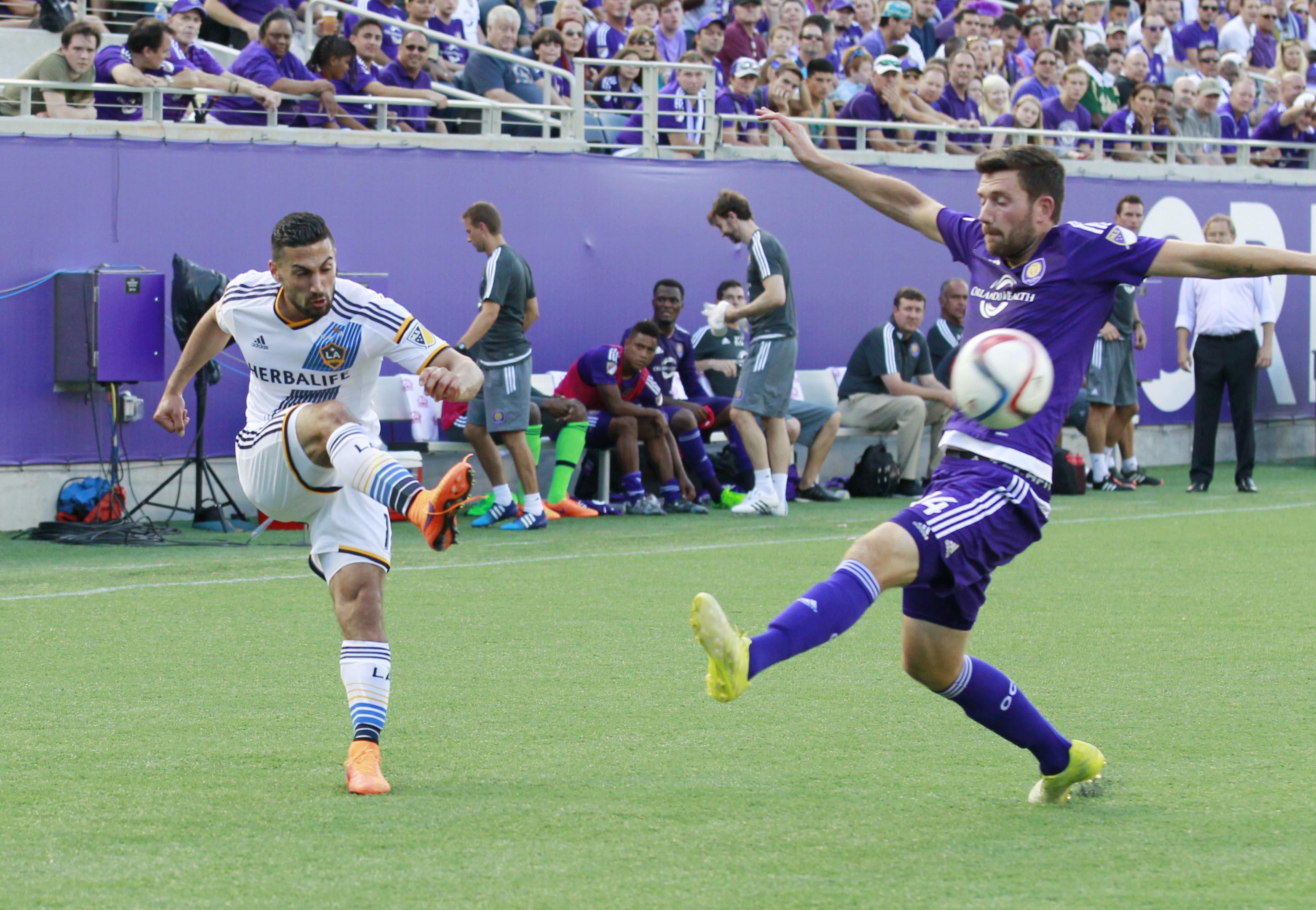 MLS: LA Galaxy at Orlando City SC