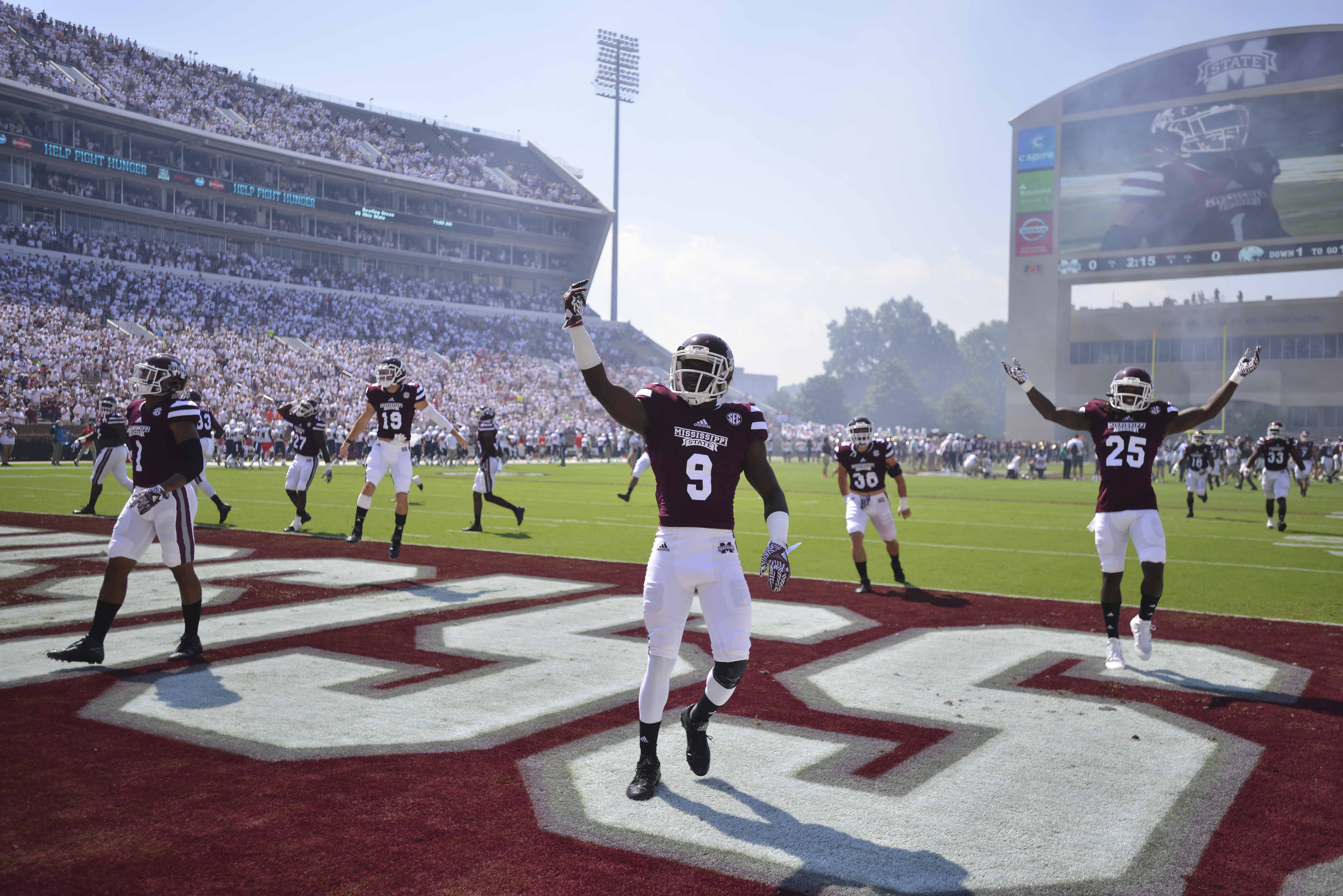 NCAA Football: South Alabama at Mississippi State