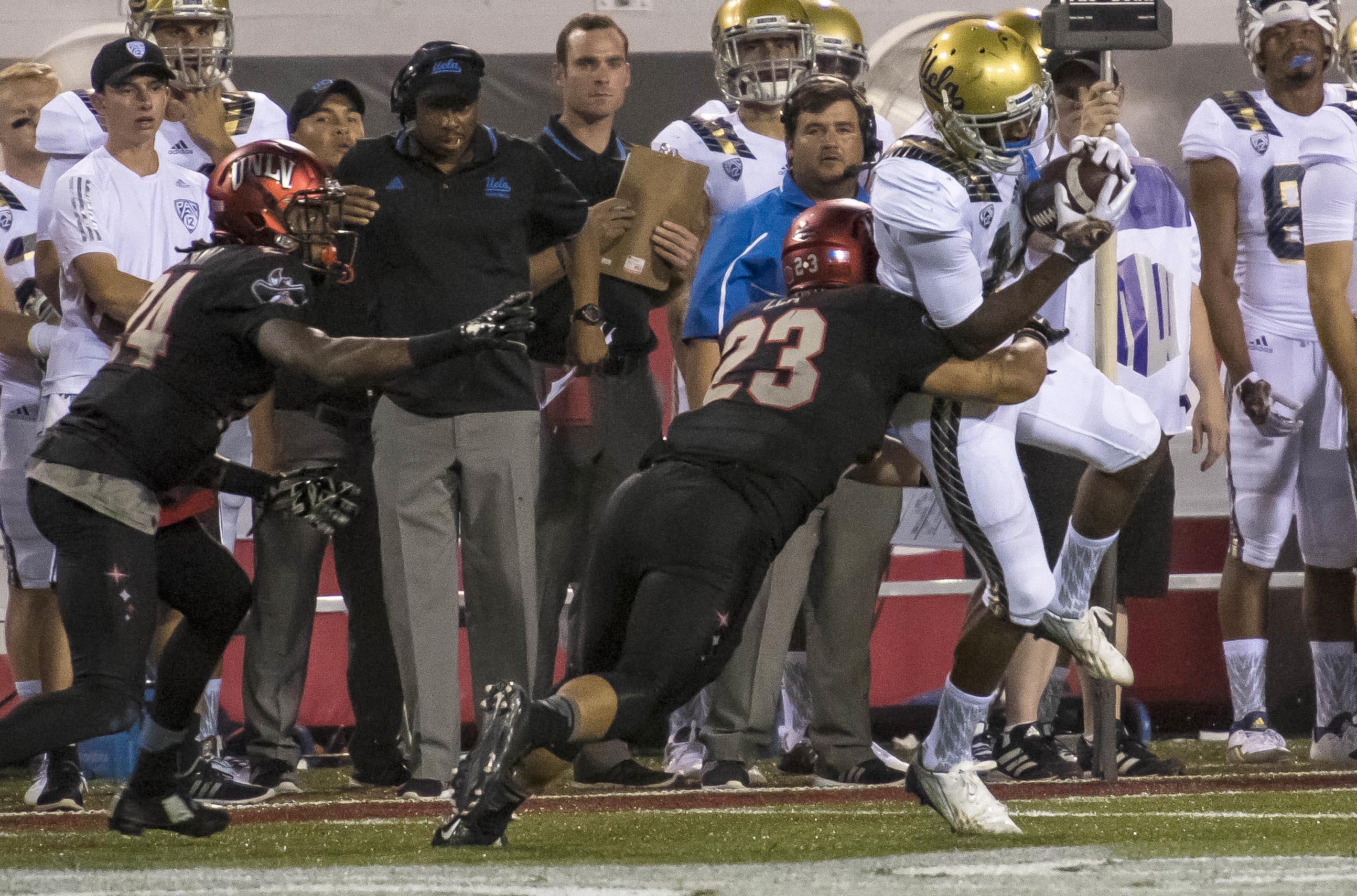 NCAA Football: UCLA at UNLV