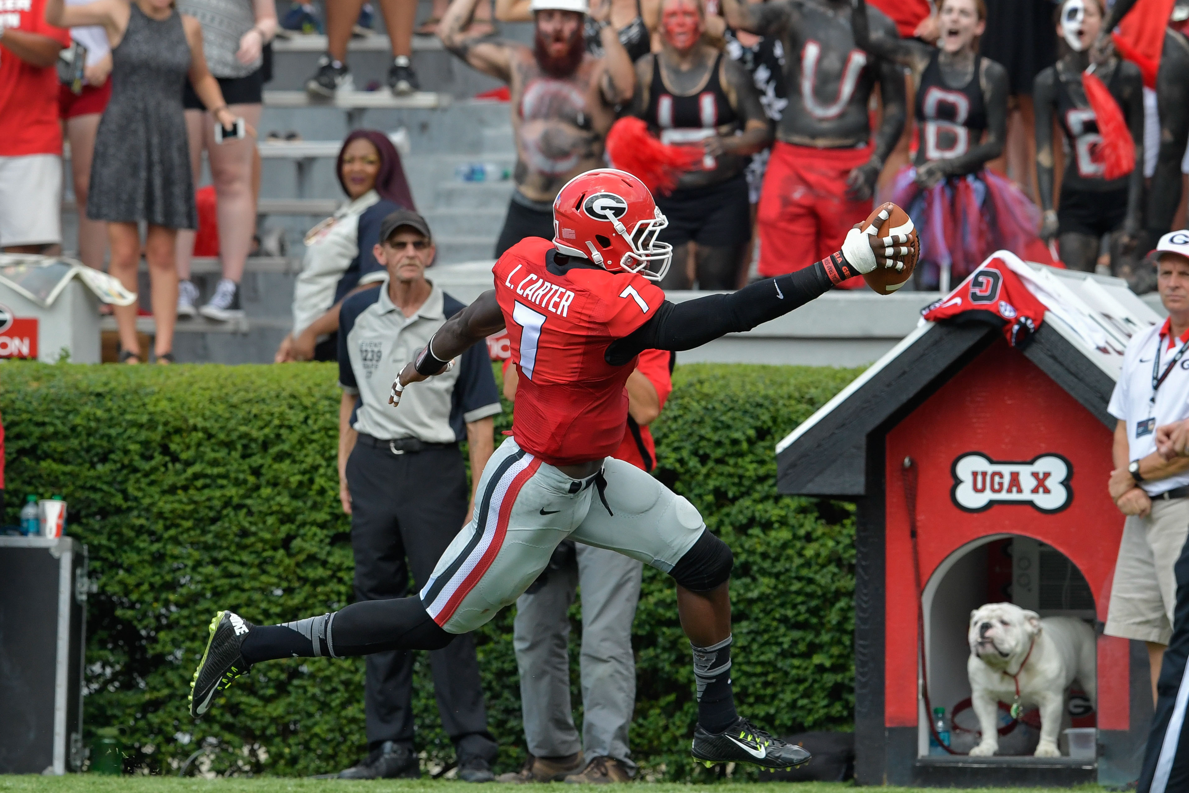 NCAA Football: Nicholls State at Georgia