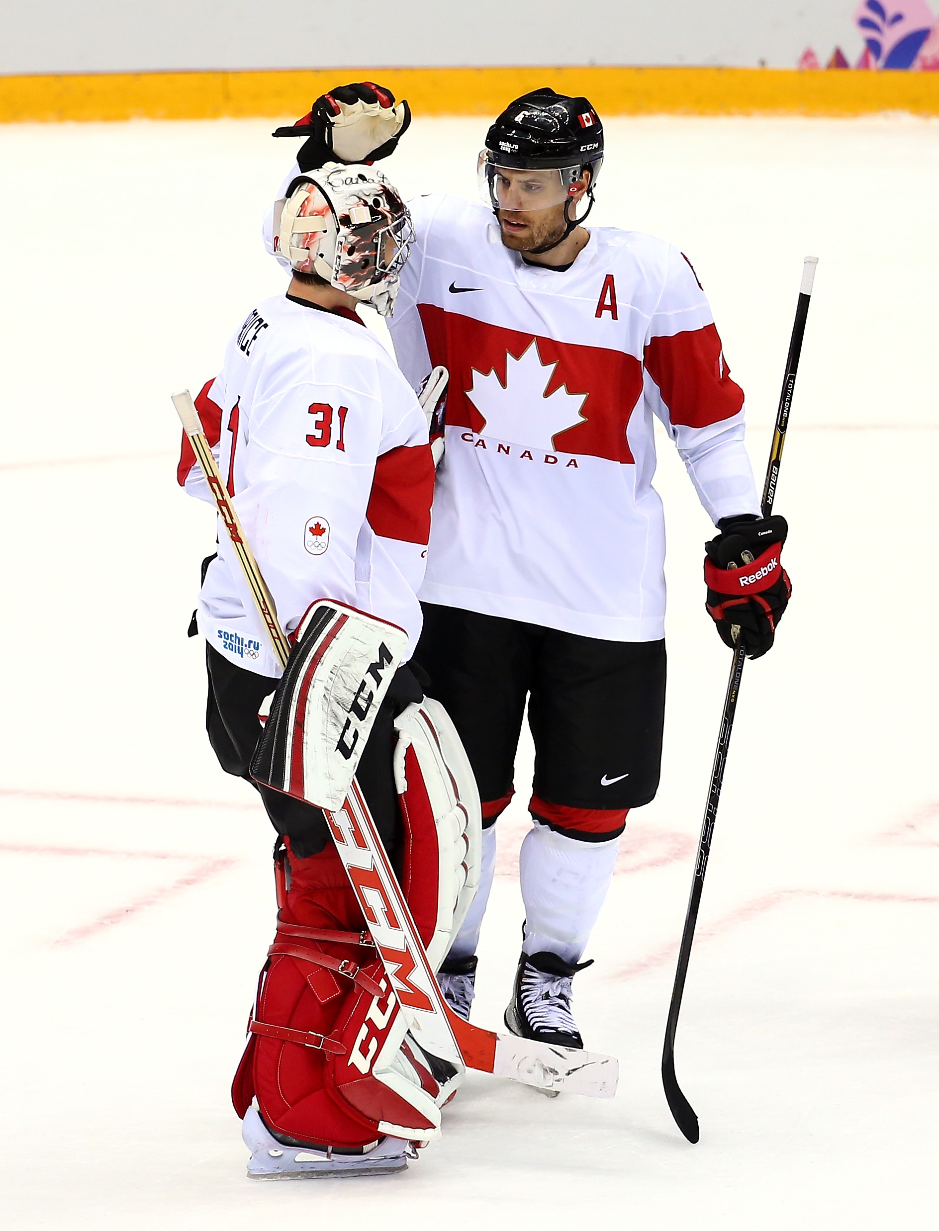 Ice Hockey - Winter Olympics Day 12 - Canada v Latvia
