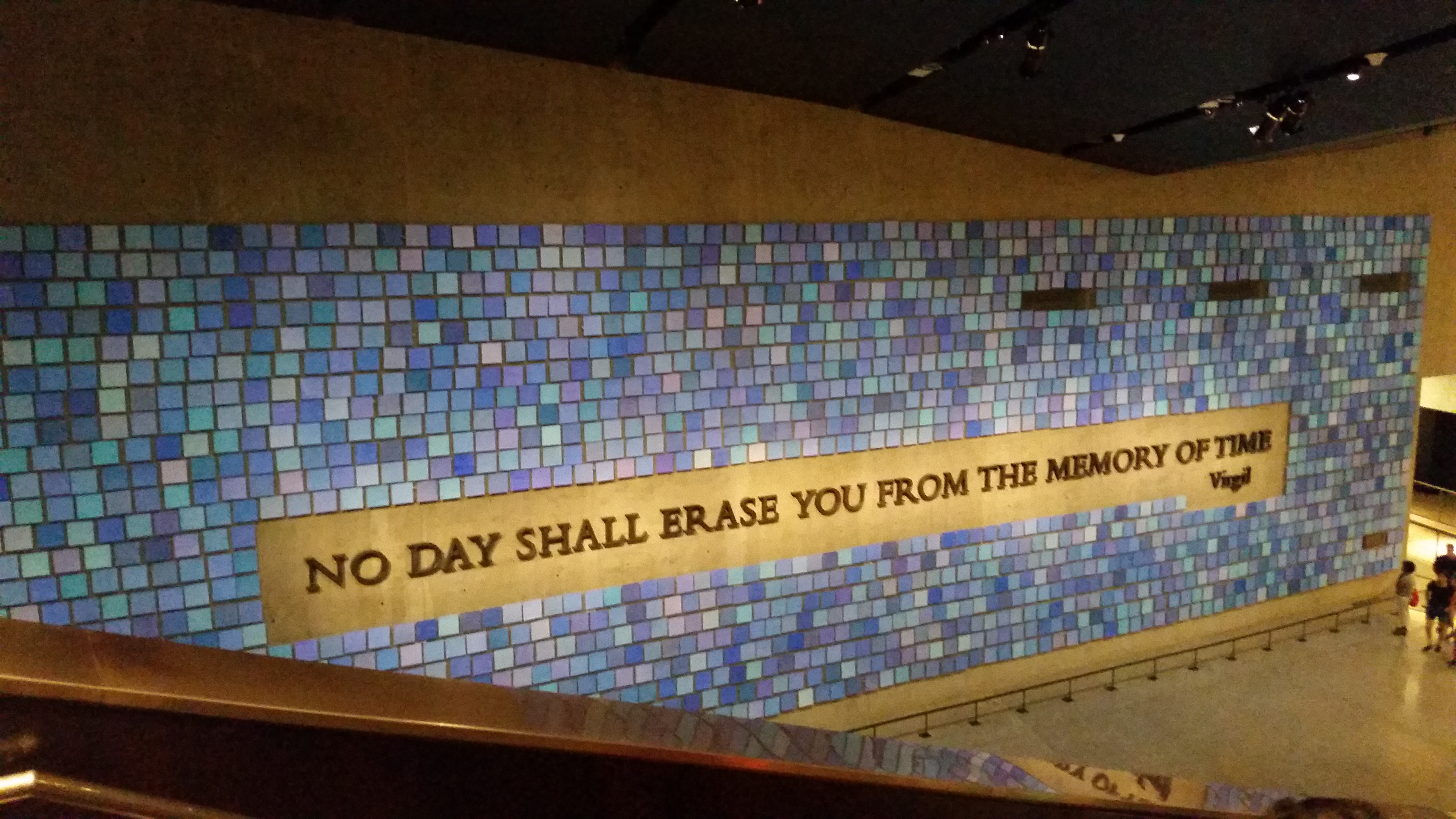 Trying to Remember the Color of the Sky on That September Morning, Stephen Finch, The National 9/11 Memorial & Museum. Picture taken by John Fischer.