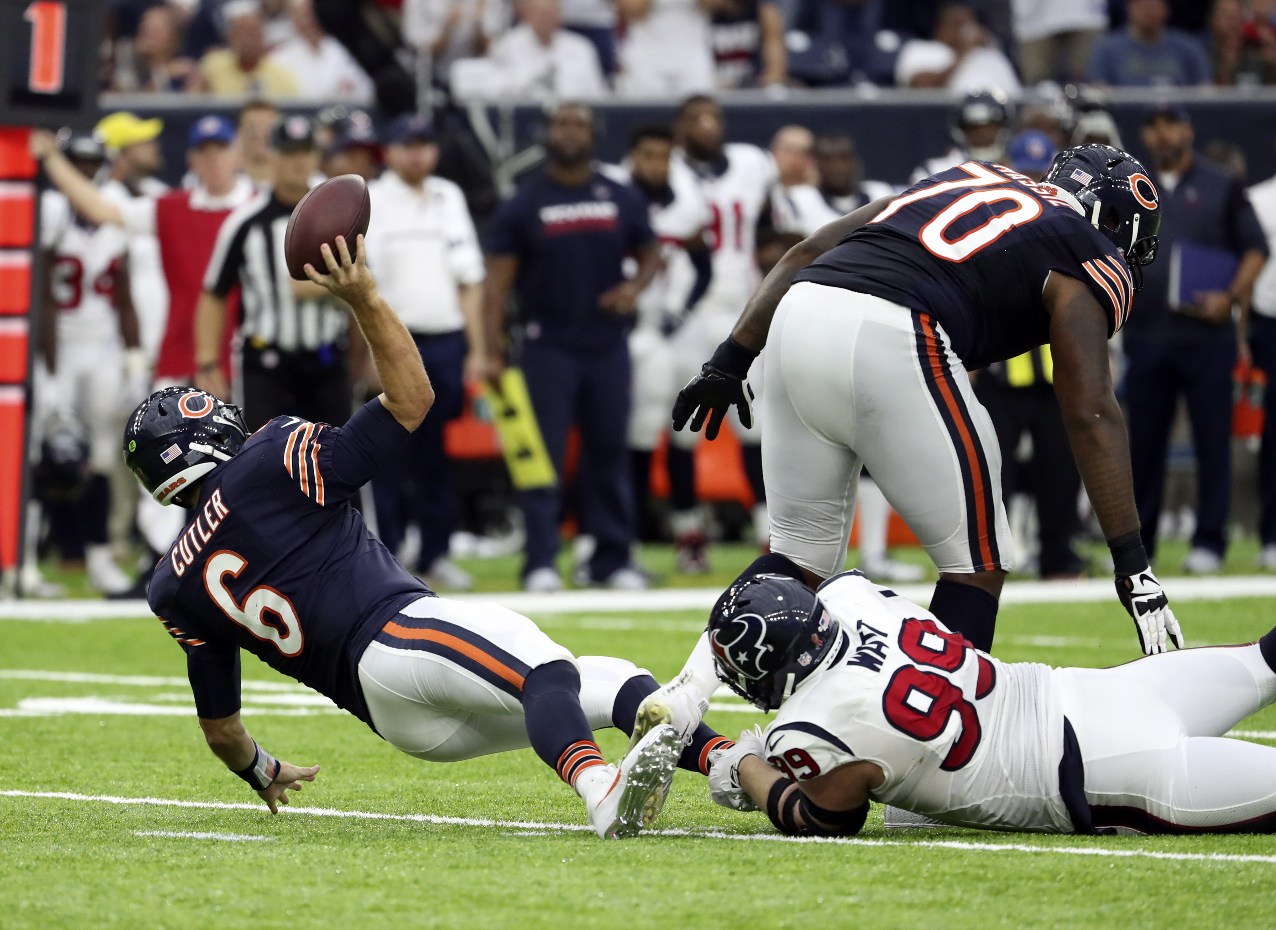 Somehow not a sack.  No, we don't know how this is the case either.