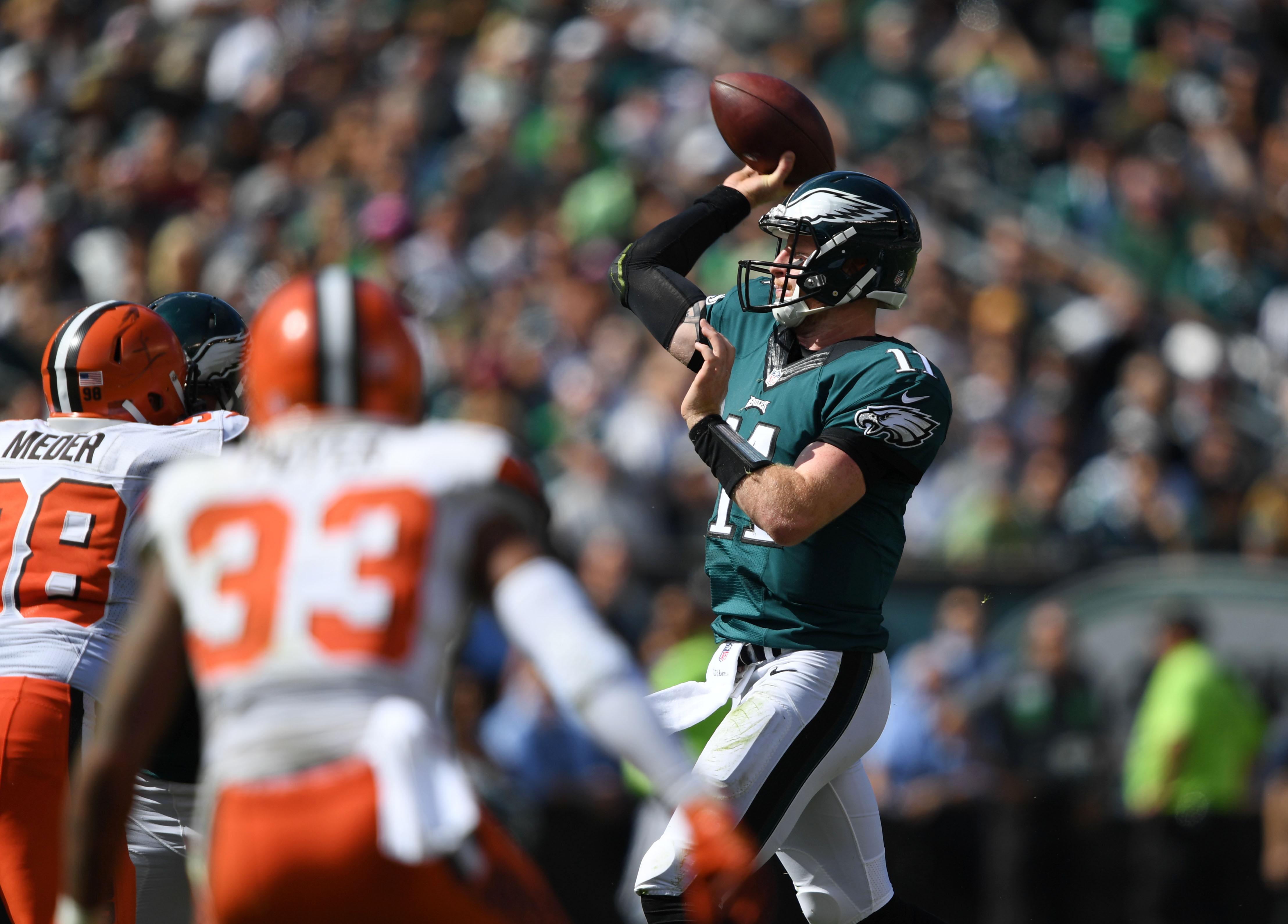 NFL: Cleveland Browns at Philadelphia Eagles