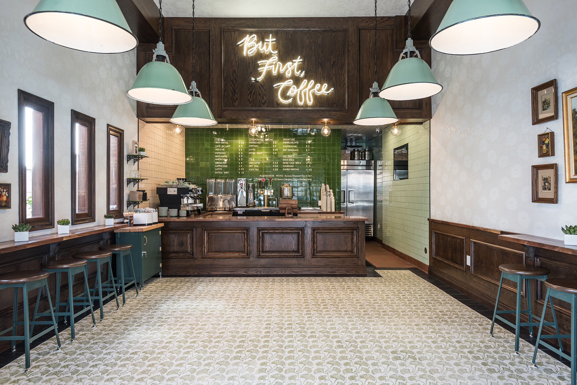 Alfred Coffee Kicks It Old School in Studio City