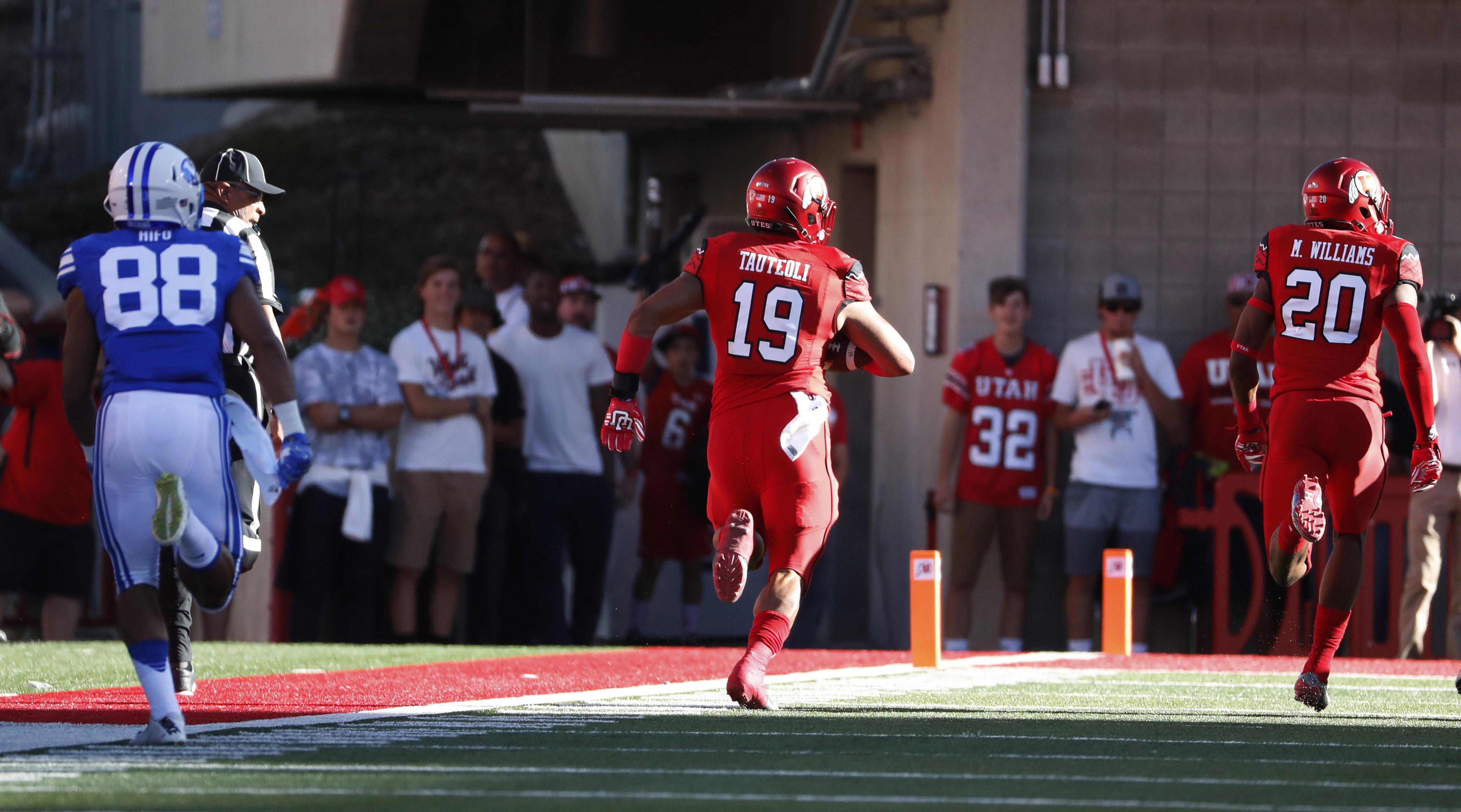 NCAA Football: Brigham Young at Utah