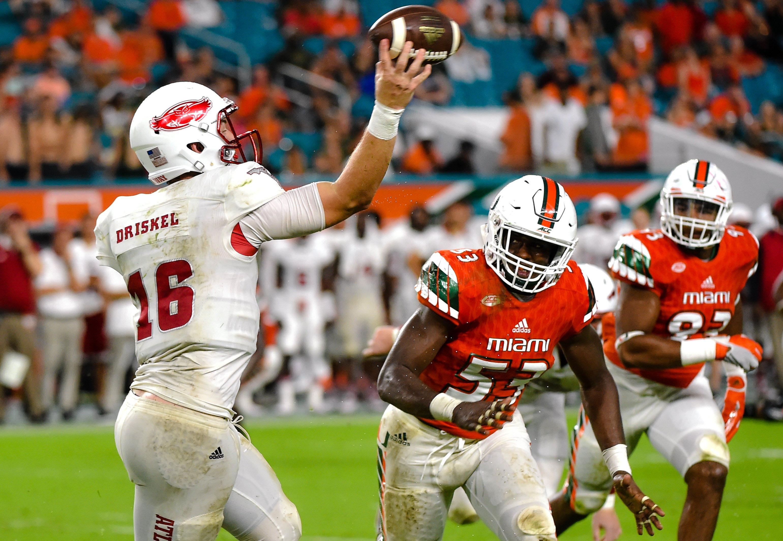 NCAA Football: Florida Atlantic at Miami