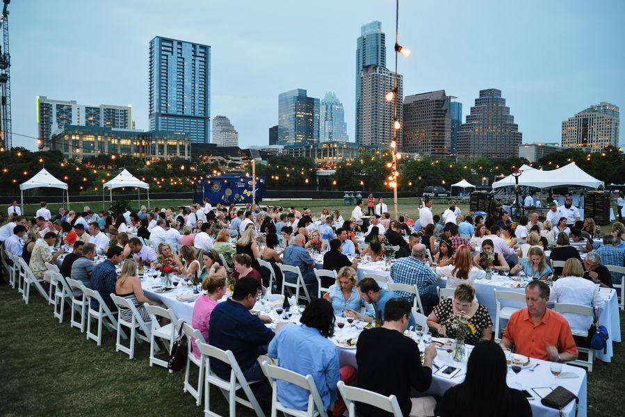 Austin Food & Wine's dinner in 2015