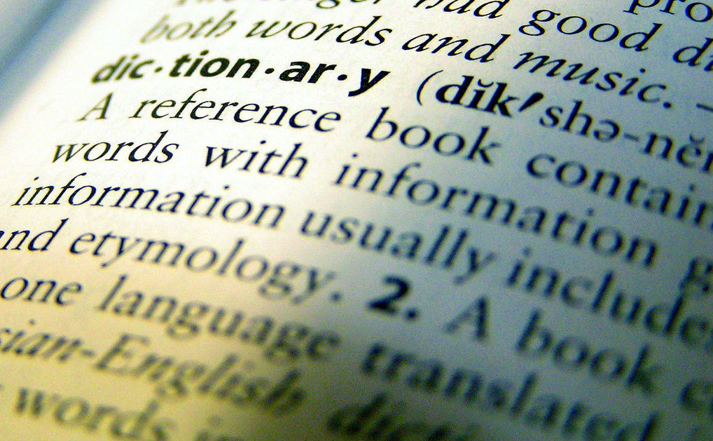 Dictionary Flickr