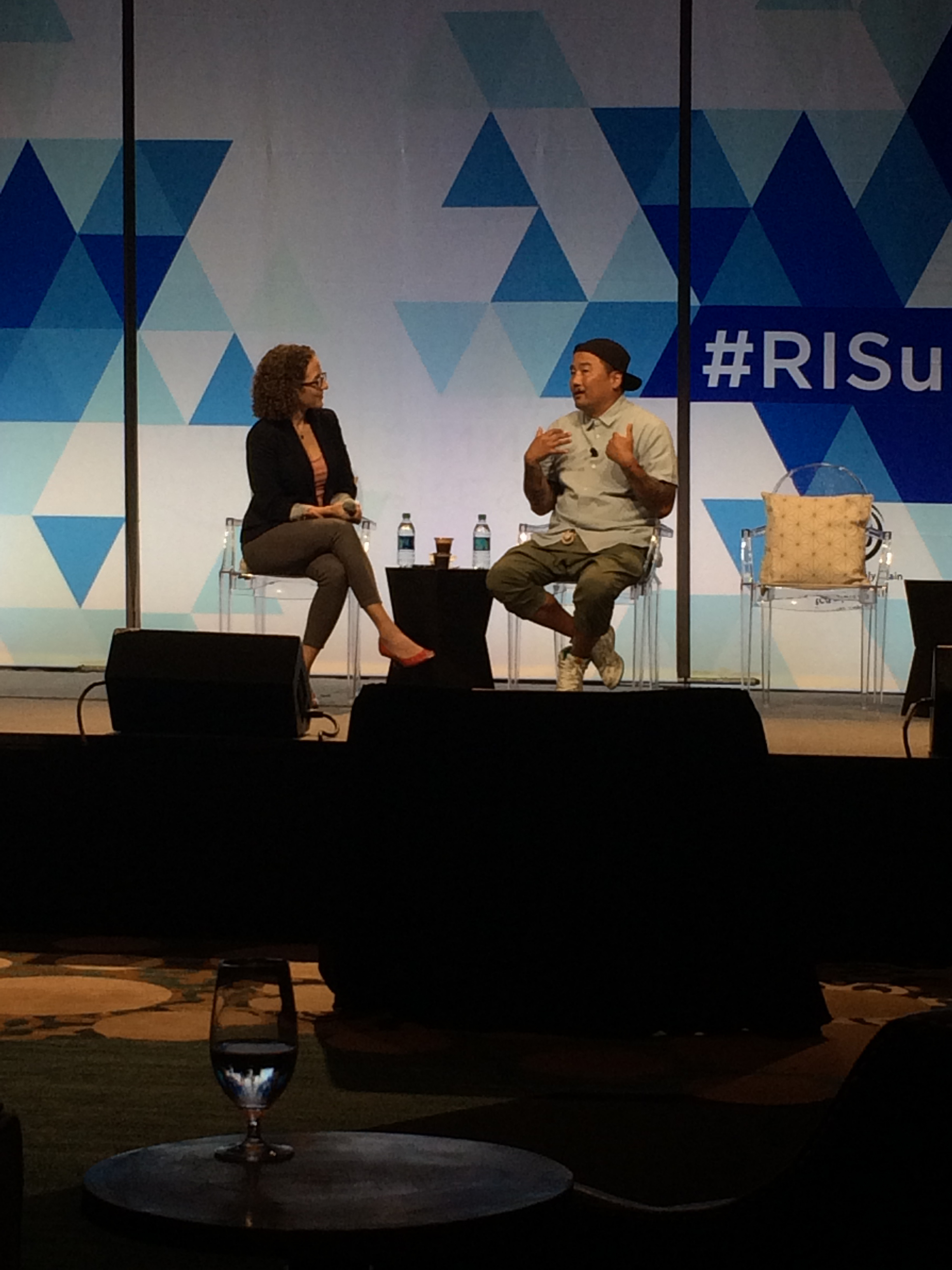 Roy Choi at the Restaurant Innovation Summit in Austin