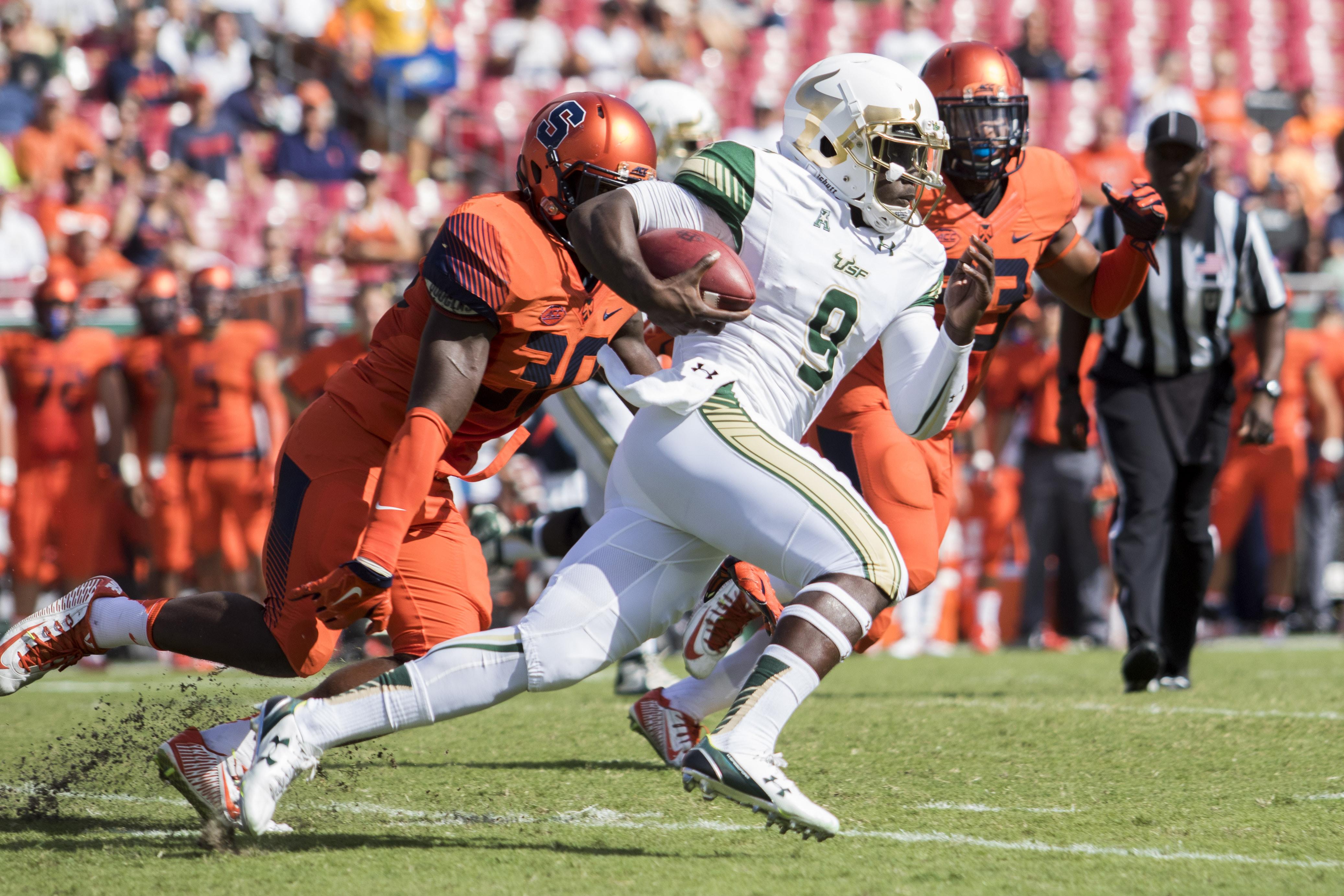 NCAA Football: Syracuse at South Florida