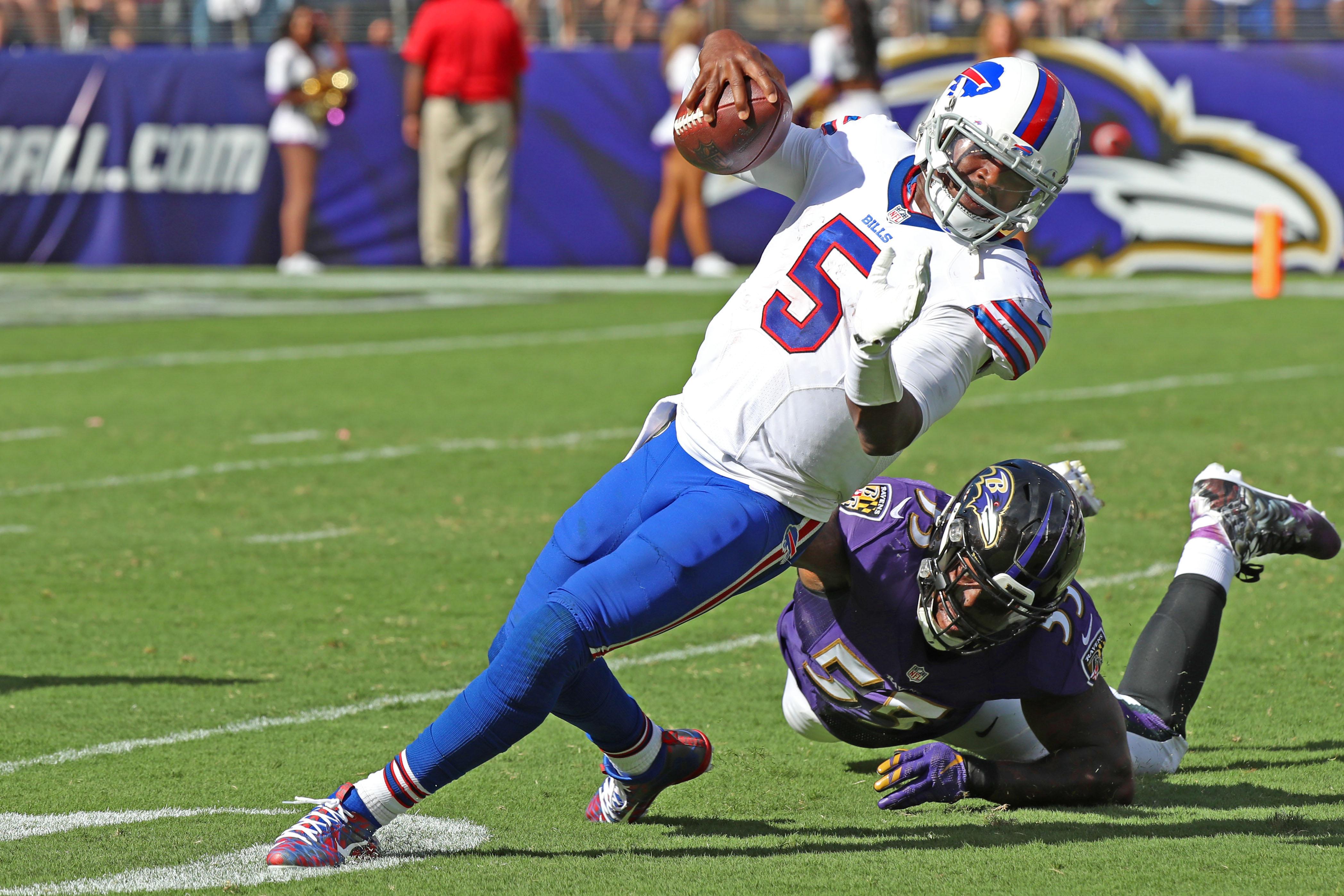 NFL: Buffalo Bills at Baltimore Ravens