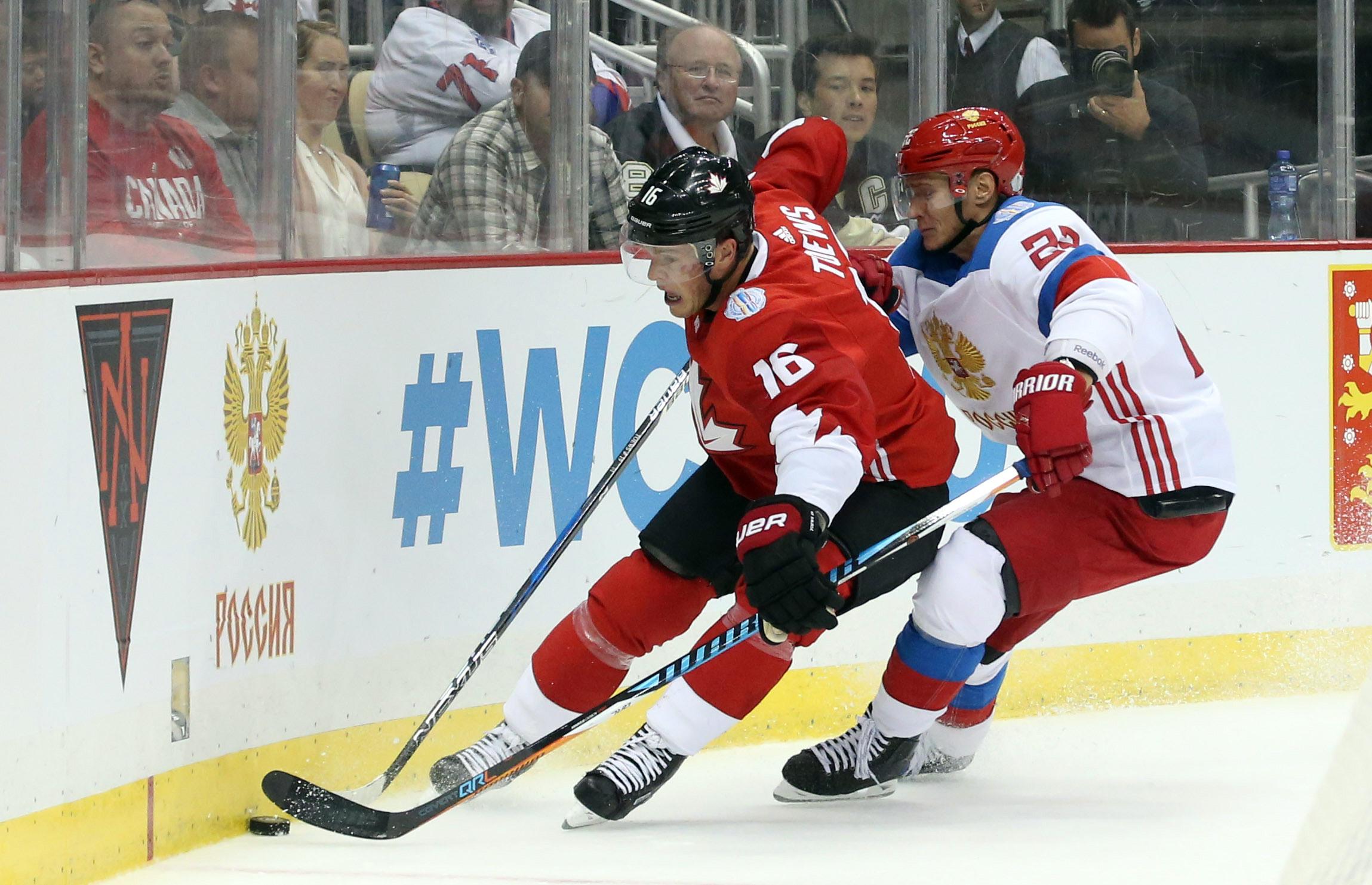 Hockey: World Cup of Hockey-Pre Tournament-Team Canada vs Team Russia