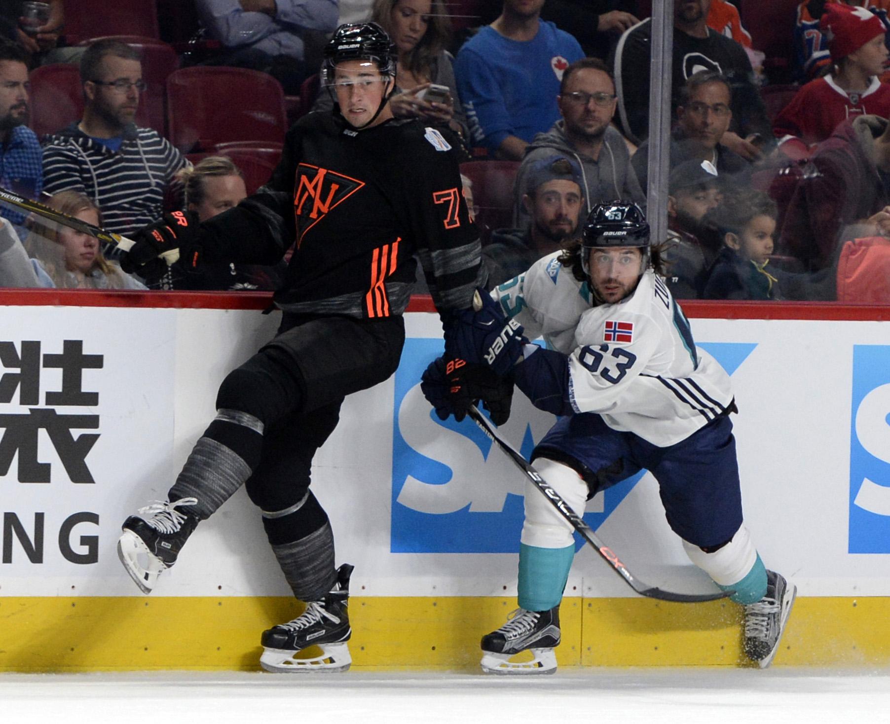 Hockey: World Cup of Hockey-Pre Tournament-Team Europe vs Team North America