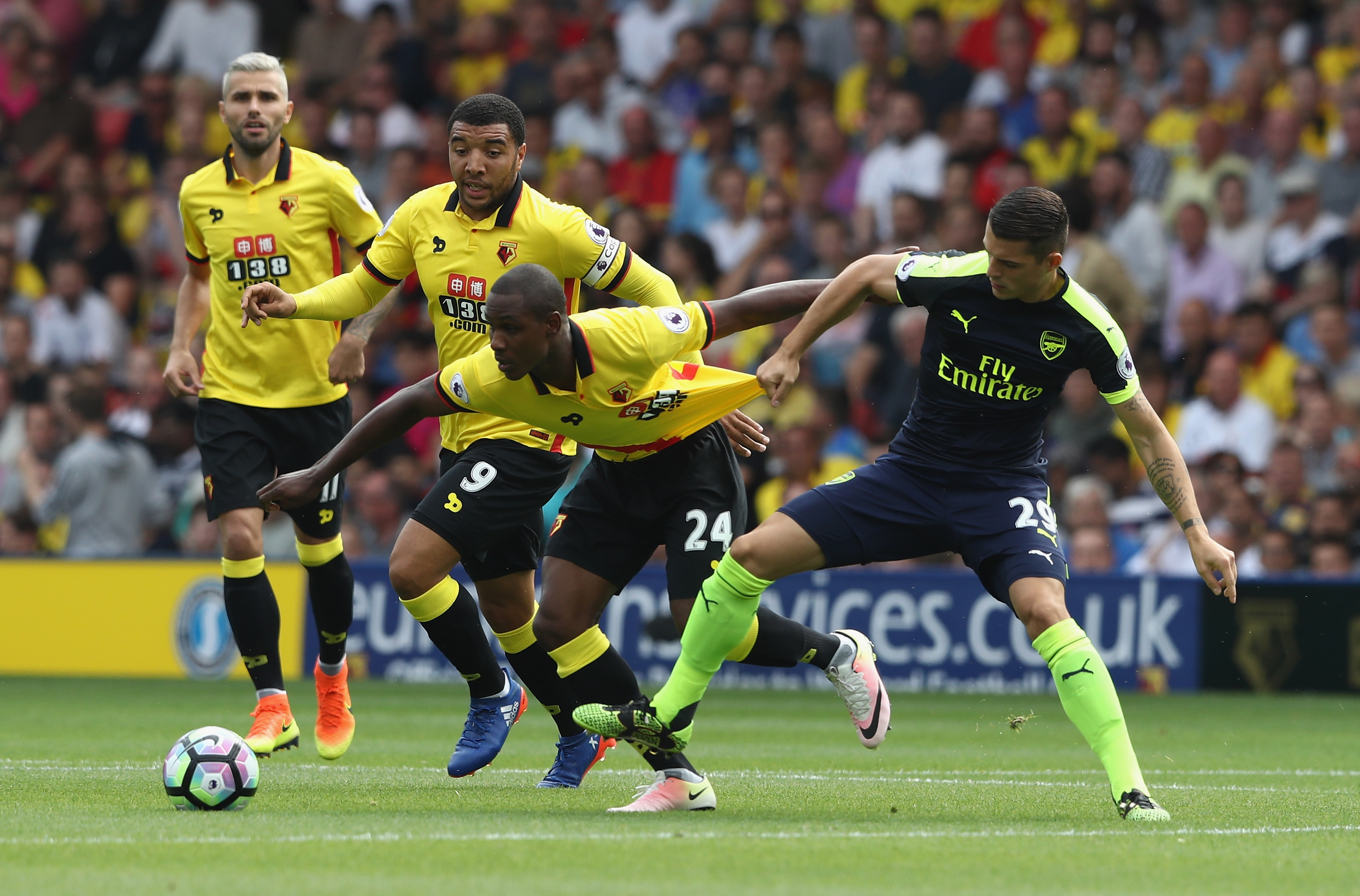 Granit Xhaka isn't the player Wenger seems to think he is