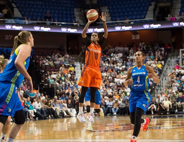 Connecticut Sun, WNBA, Dallas Wings