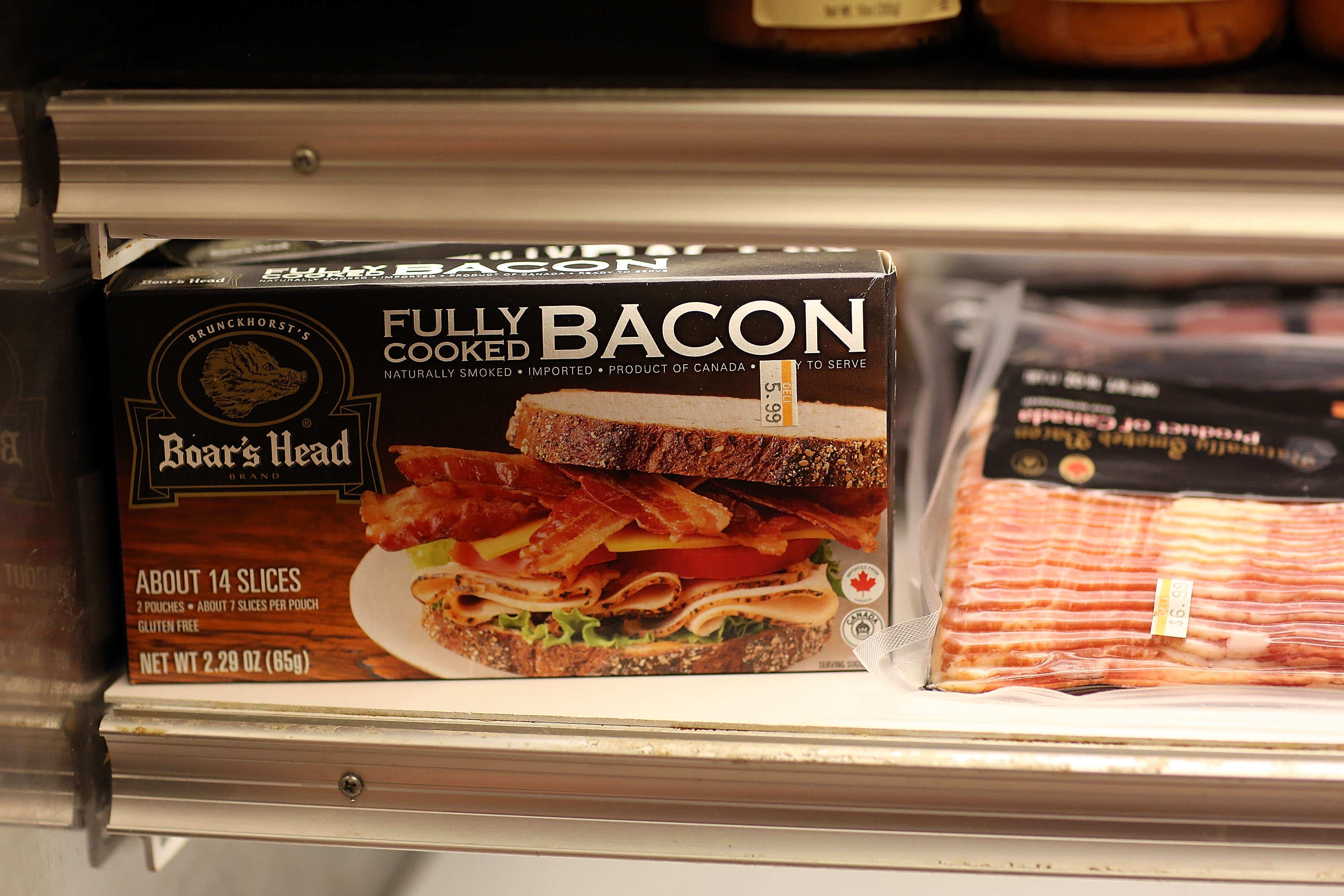 Plentiful National Pork Supply Sends Price Of Bacon Down 25 Percent Since Last Year