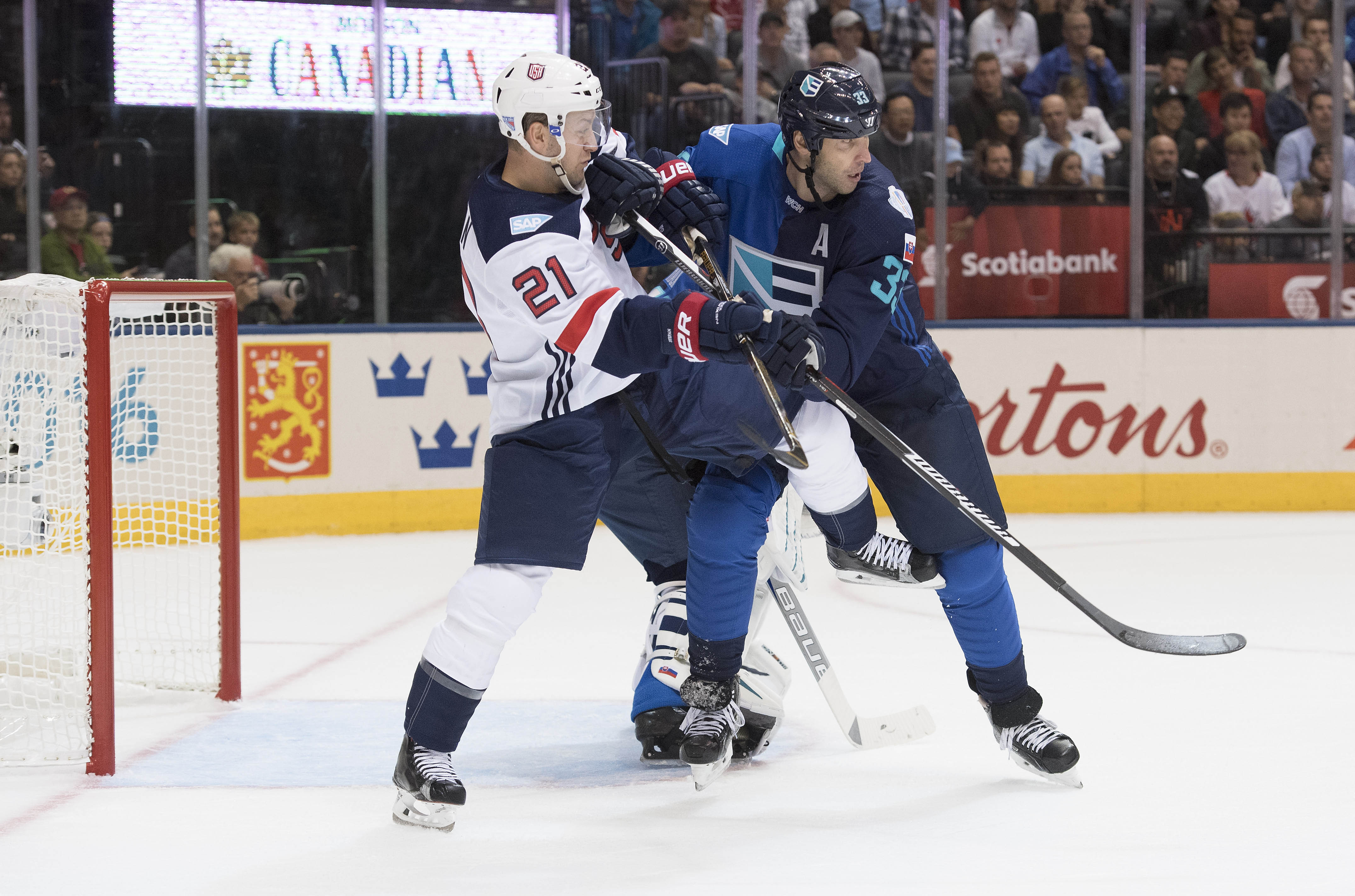 Hockey: World Cup of Hockey-Team Europe vs Team USA