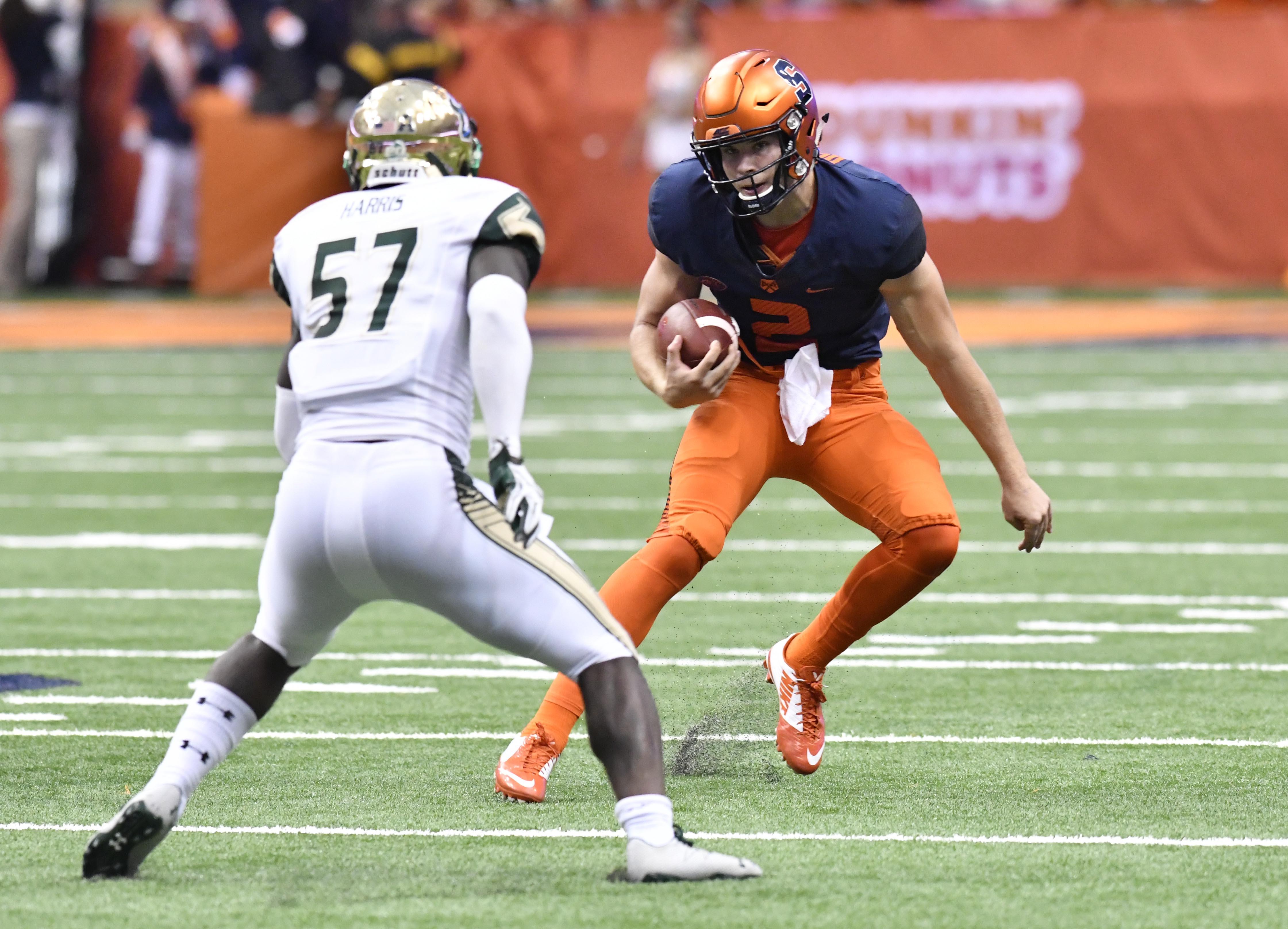 NCAA Football: South Florida at Syracuse