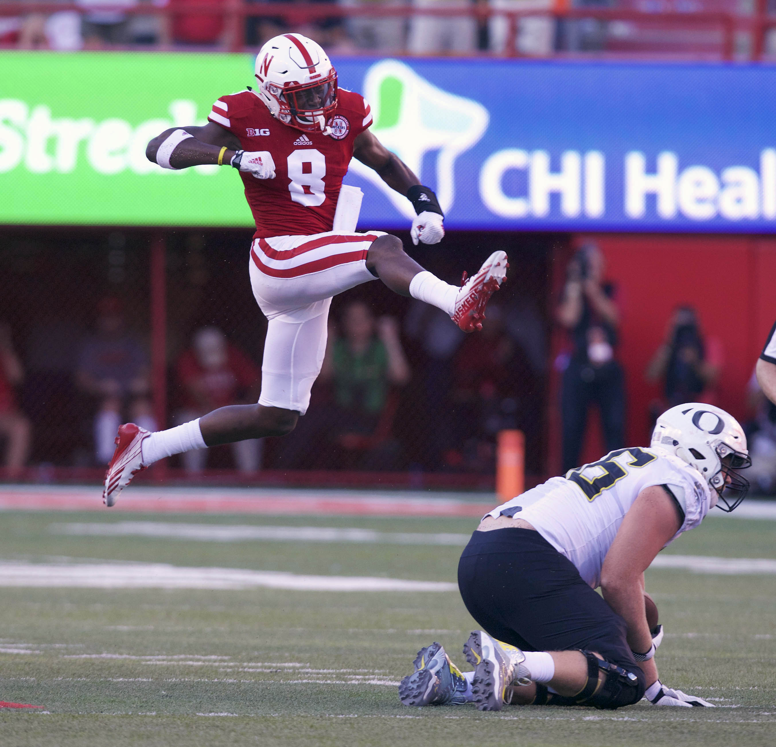 NCAA Football: Oregon at Nebraska