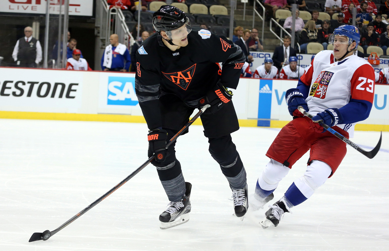 Hockey: World Cup of Hockey-Pre Tournament-Team Czech Republic vs Team North America