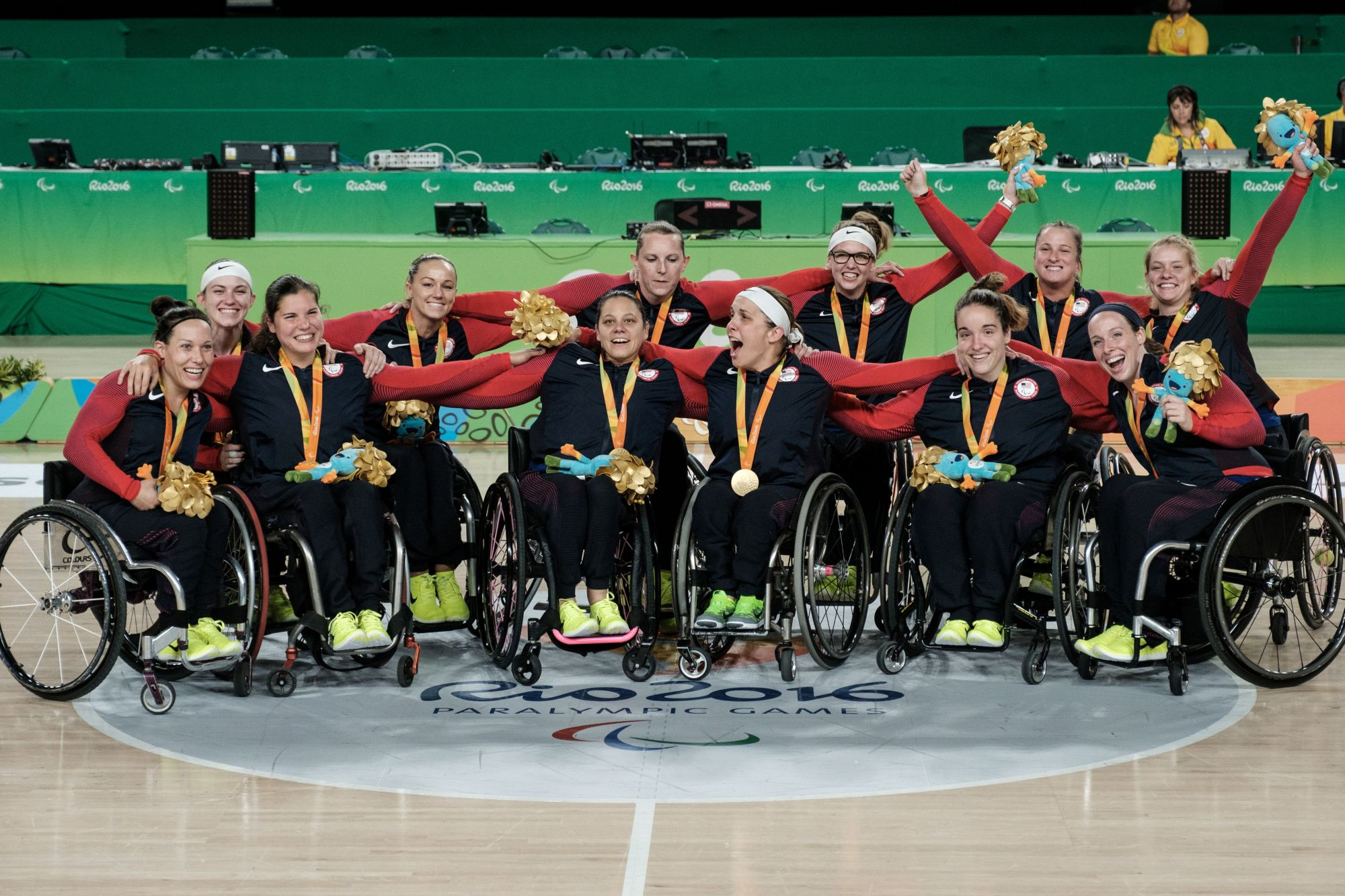 The U.S. gold medal team