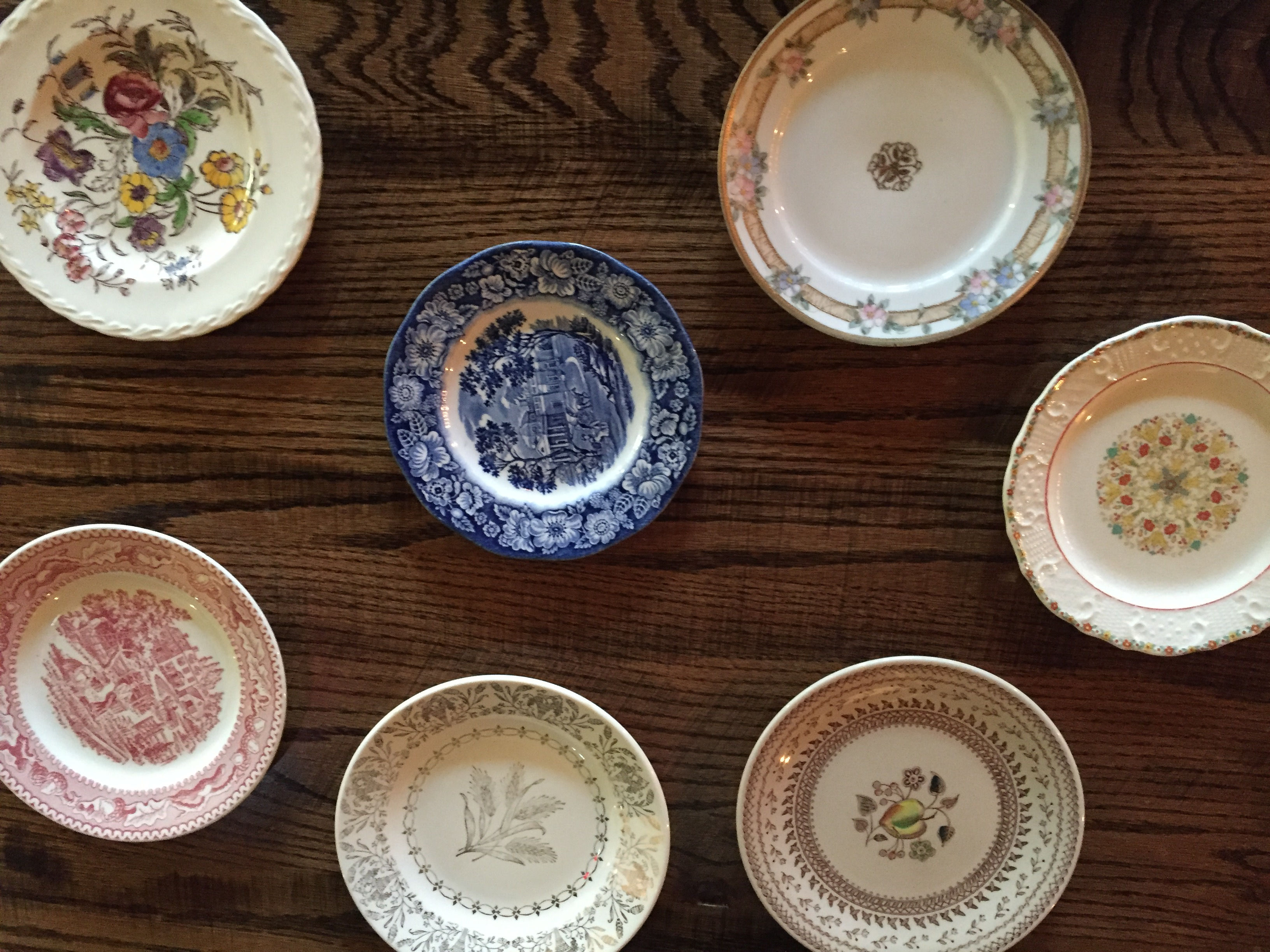 Vintage bread and butter plates disappearing from Macon Bistro