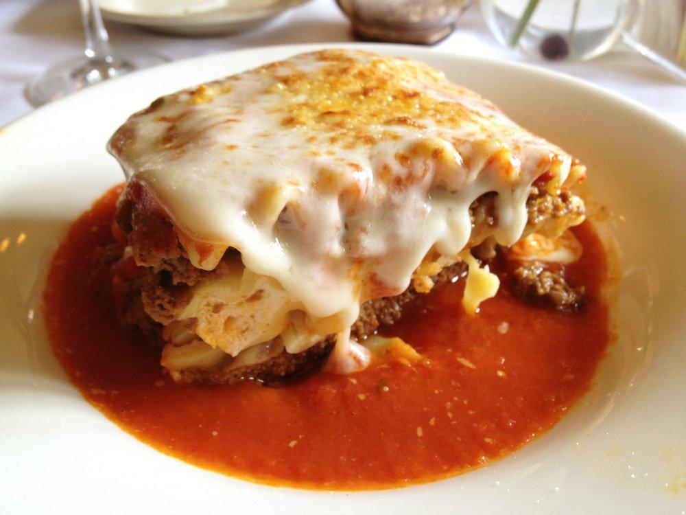 Lasagna at Vito, Santa Monica