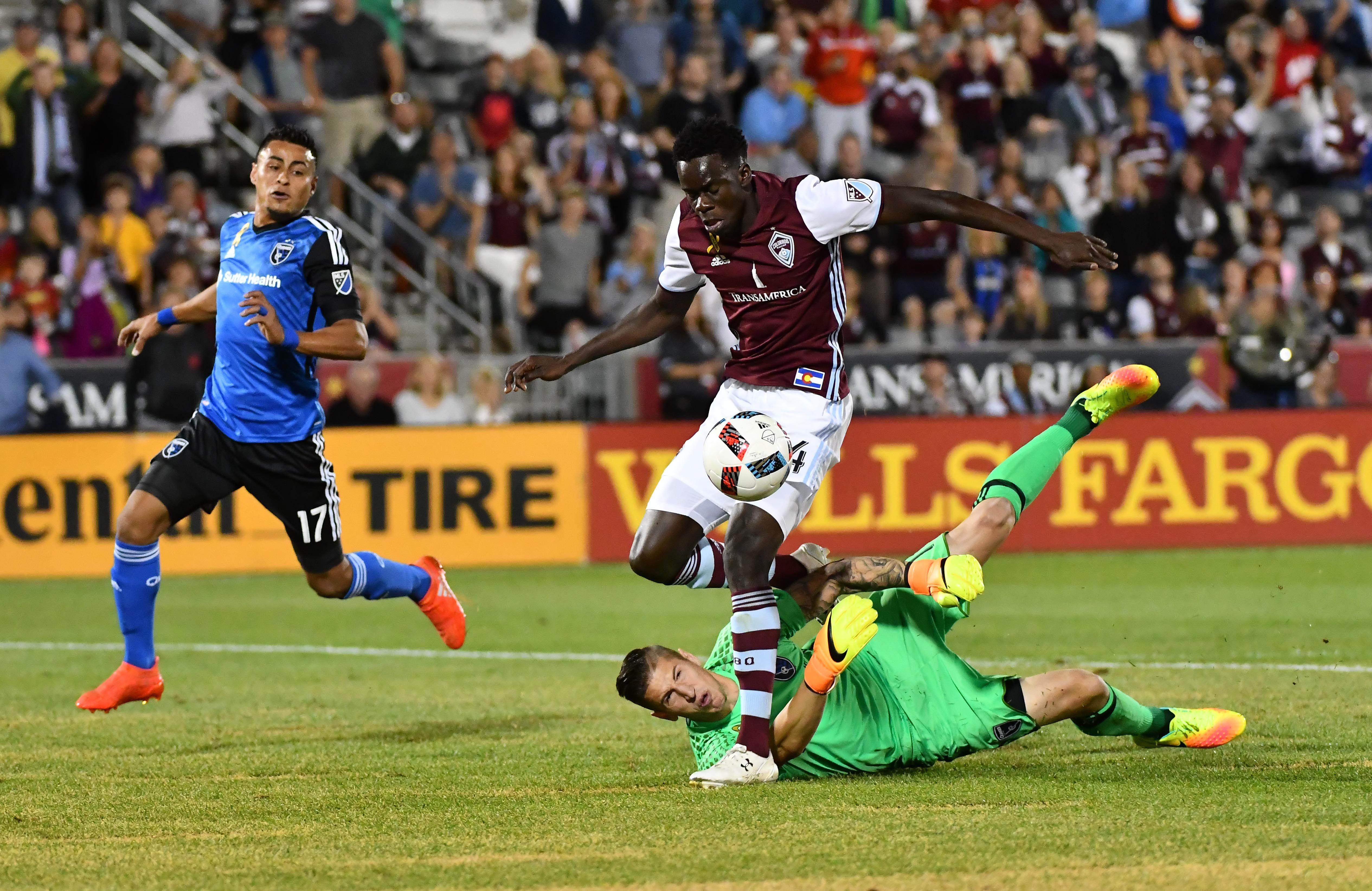 MLS: San Jose Earthquakes at Colorado Rapids