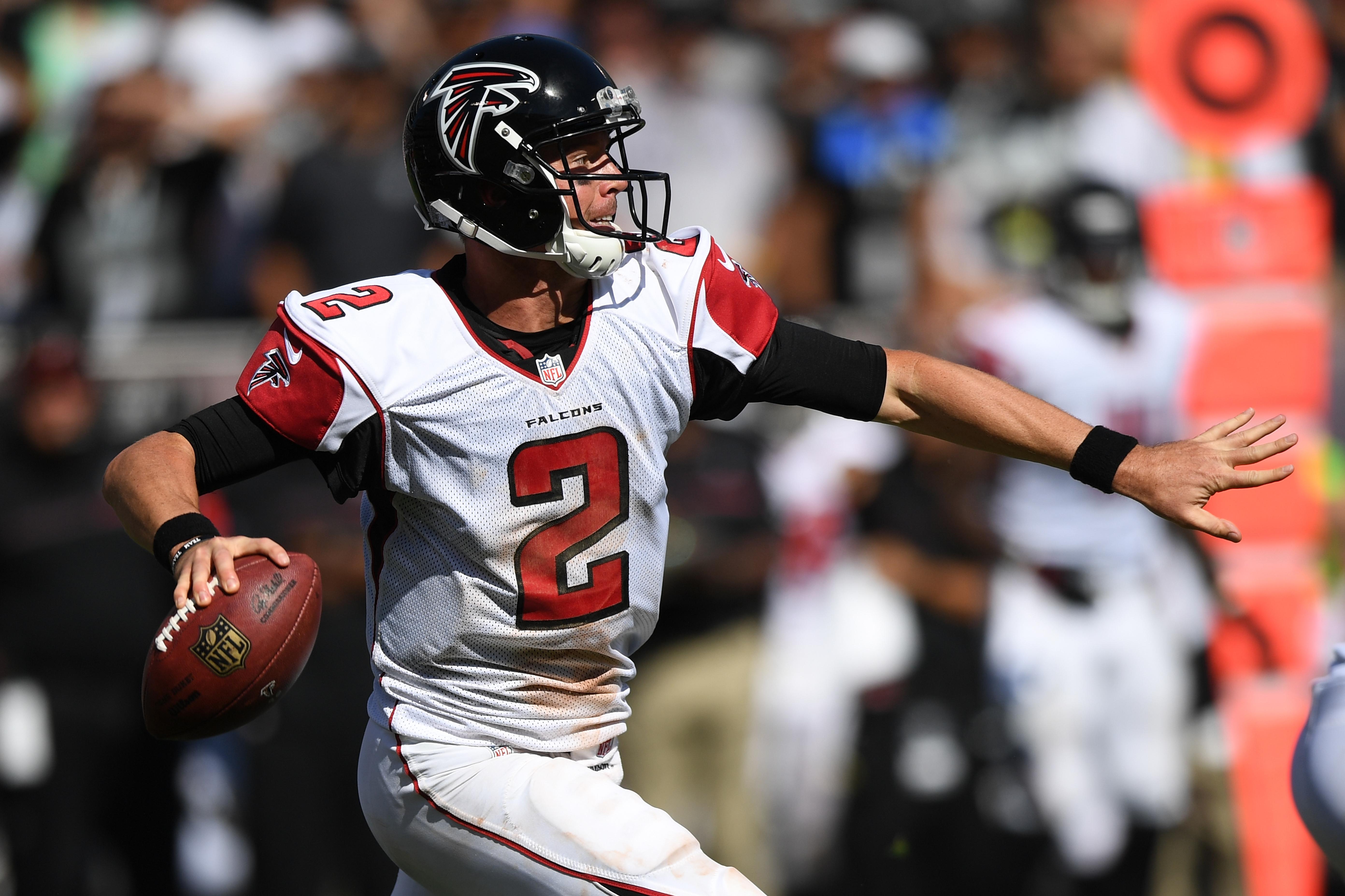Atlanta Falcons QB Matt Ryan vs Oakland Raiders