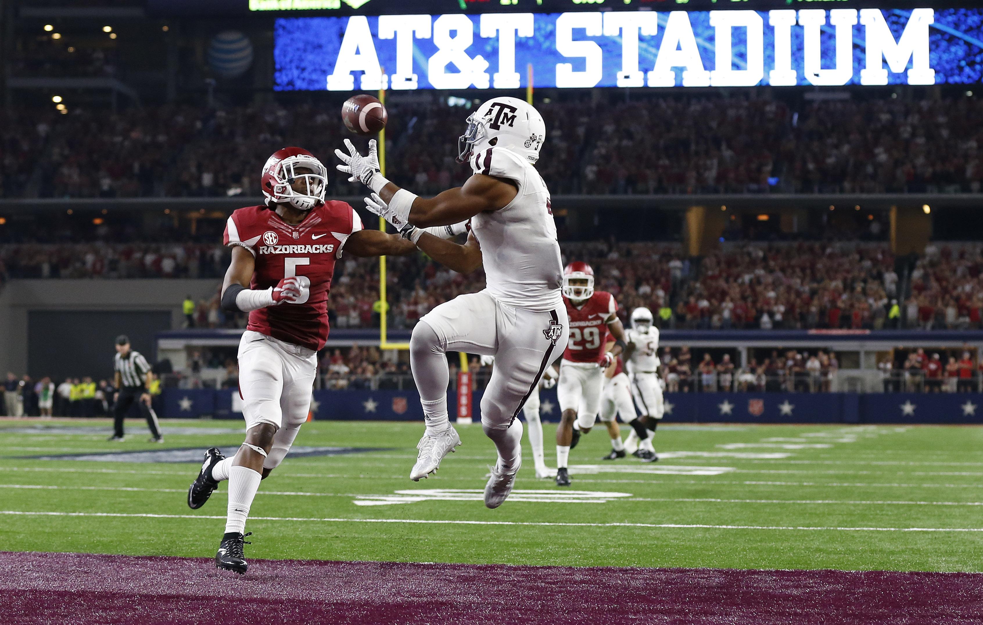 NCAA Football: Texas A&M vs Arkansas