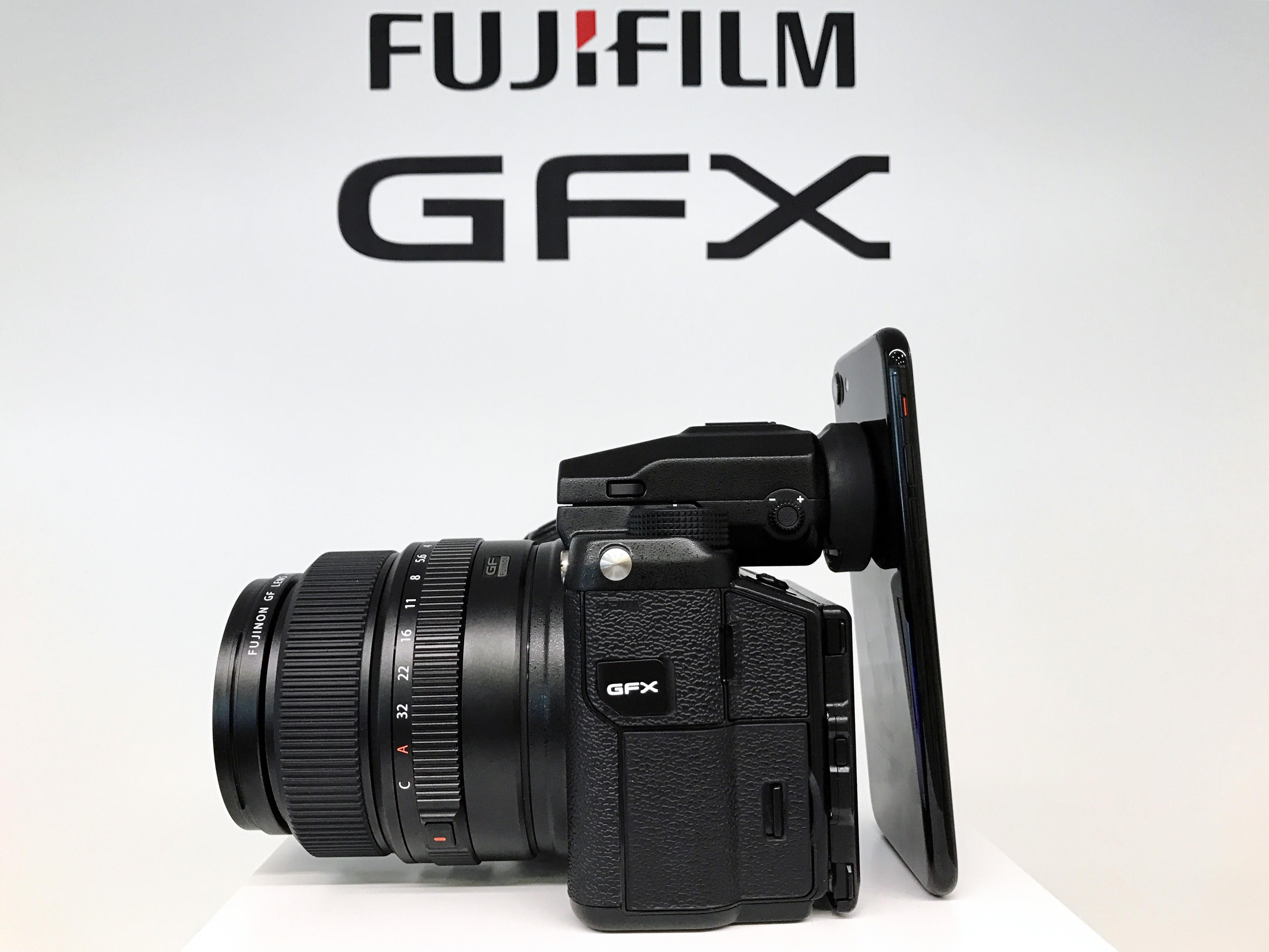 fujifilm gfx and iphone 7