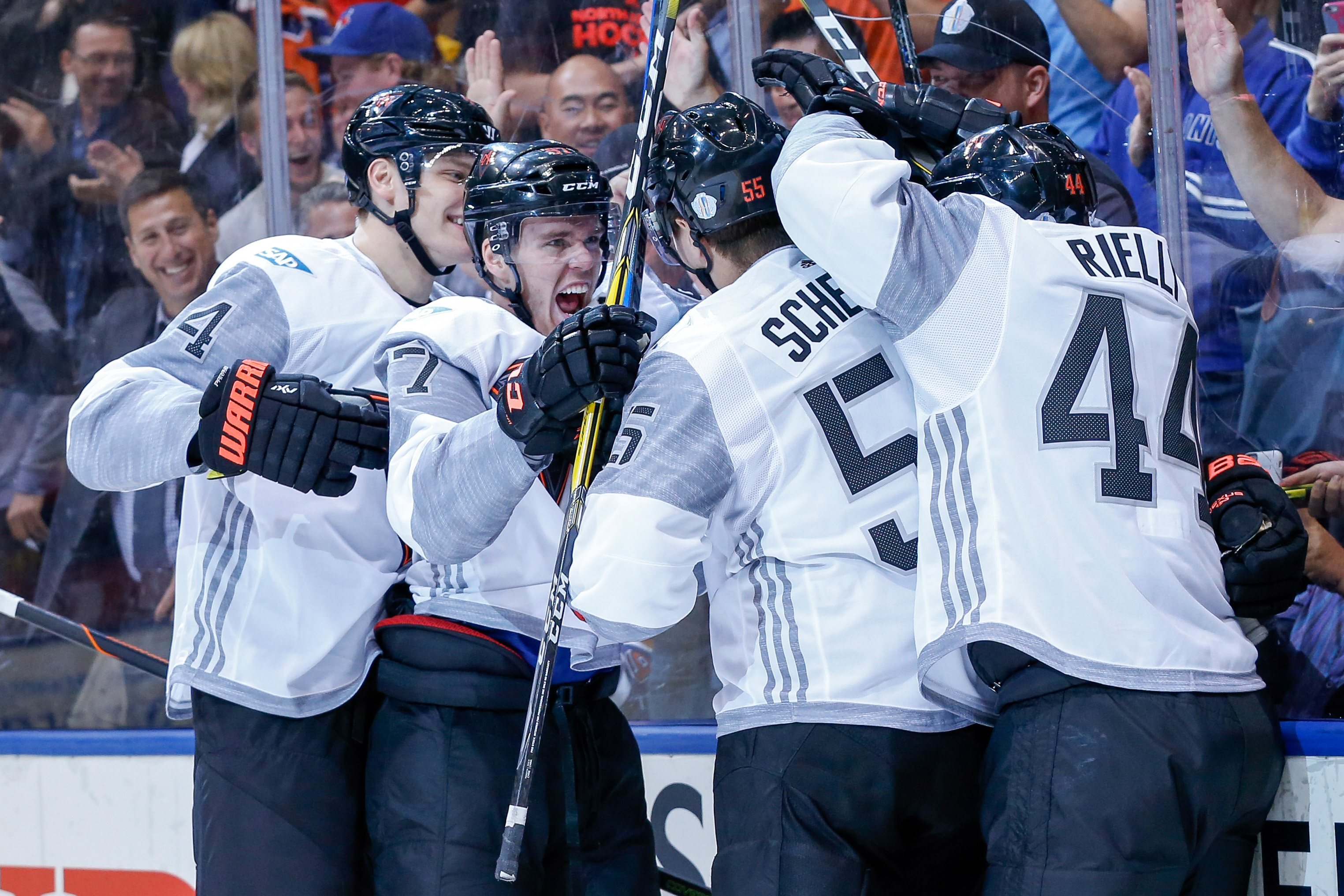 Hockey: World Cup of Hockey-Team North America vs Team Sweden