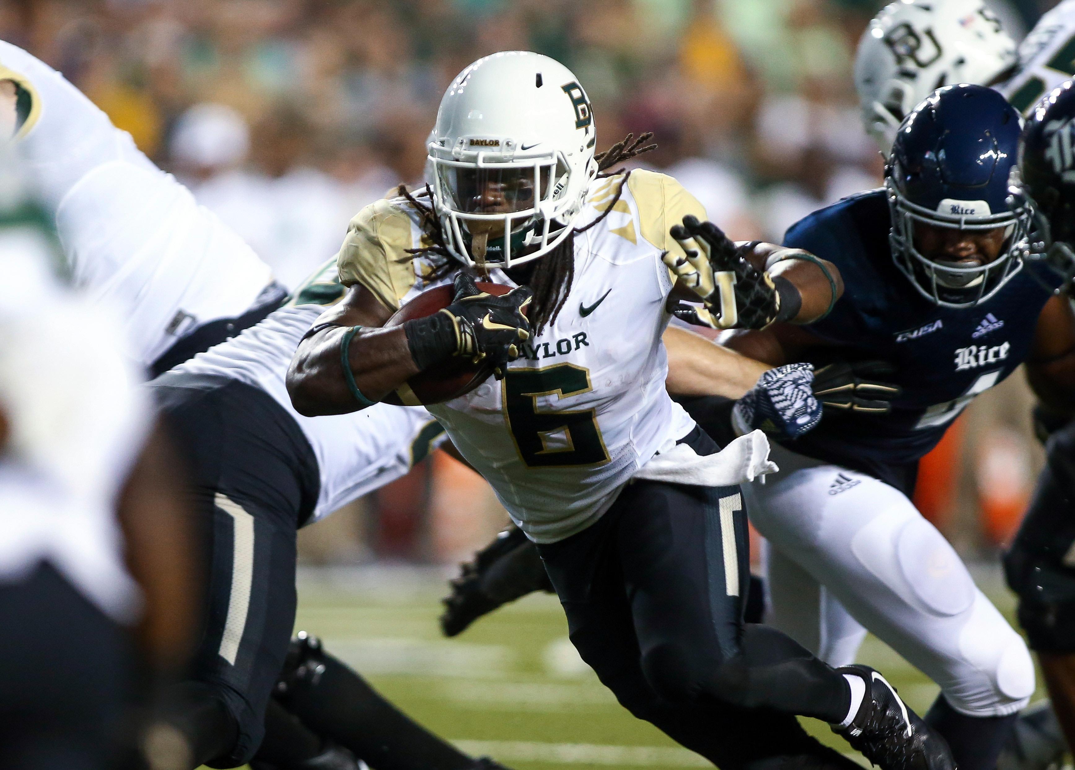 NCAA Football: Baylor at Rice